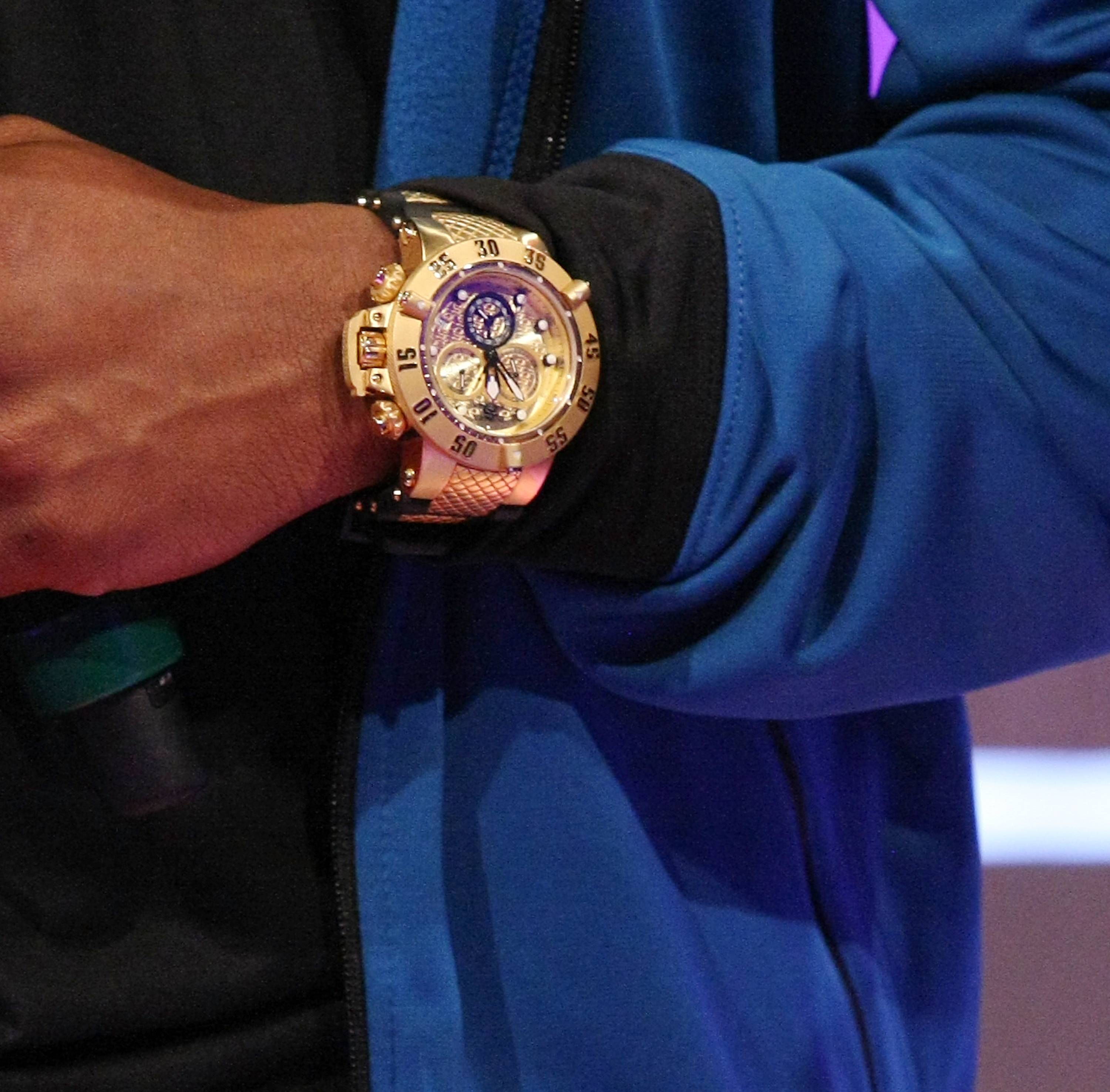 Iced Out Wrist - (Photo: Bennett Raglin/BET/Getty Images)