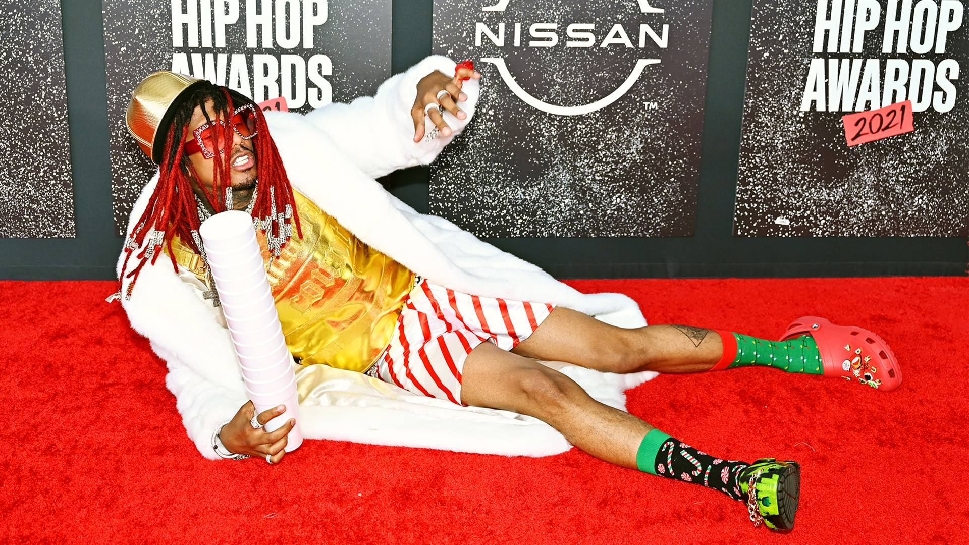 BET Hip Hop Awards 2021 | Red Carpet Nick Cannon | 1920 x 1080
