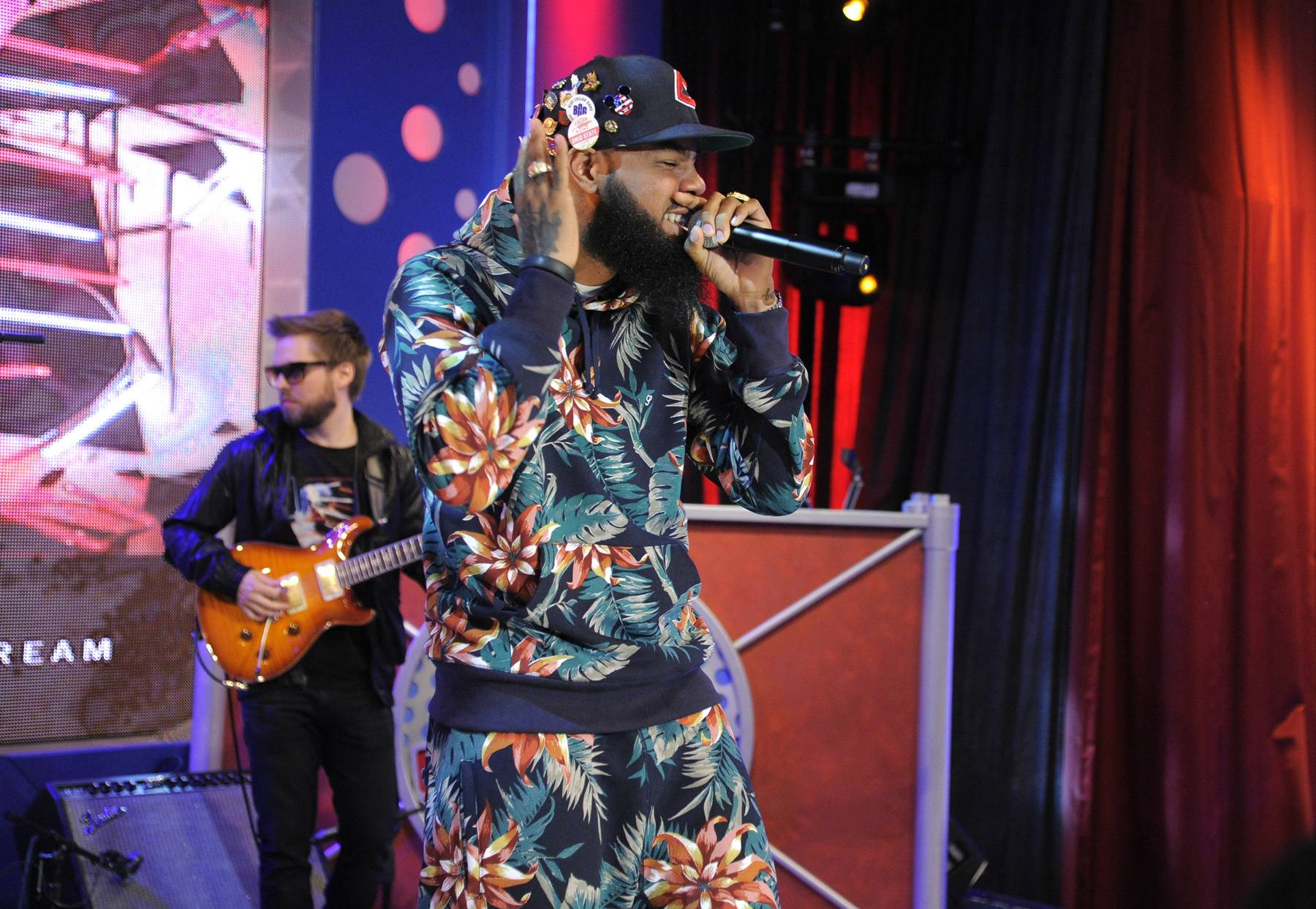 Party Heart - Stalley performs a few of his latest songs for a wild 106 audience.(photo: John Ricard / BET)