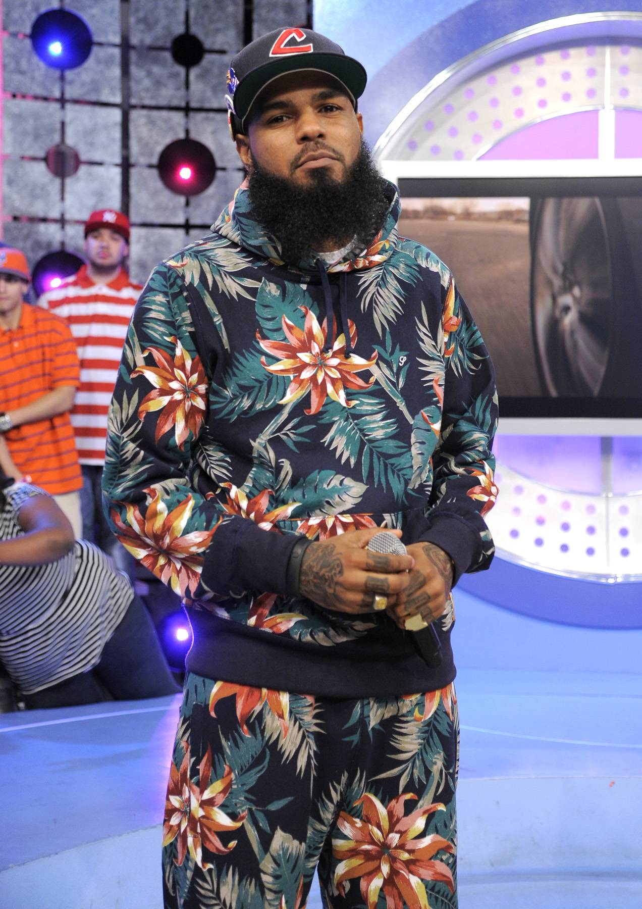 MMG Forever - Stalley of MMG at 106 & Park, April 17, 2012. (Photo: John Ricard/BET)