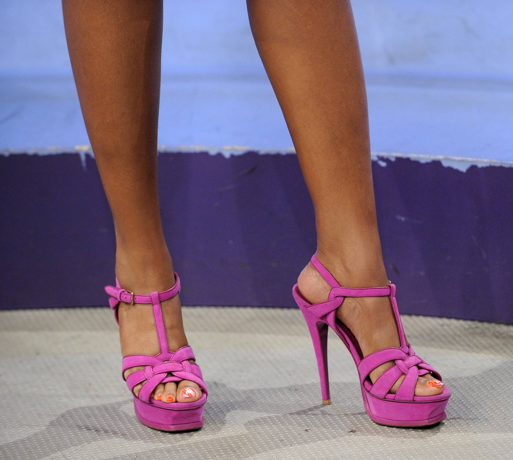 She's Got Legs - Taraji P. Henson at 106 & Park, April 17, 2012. (Photo: John Ricard/BET)