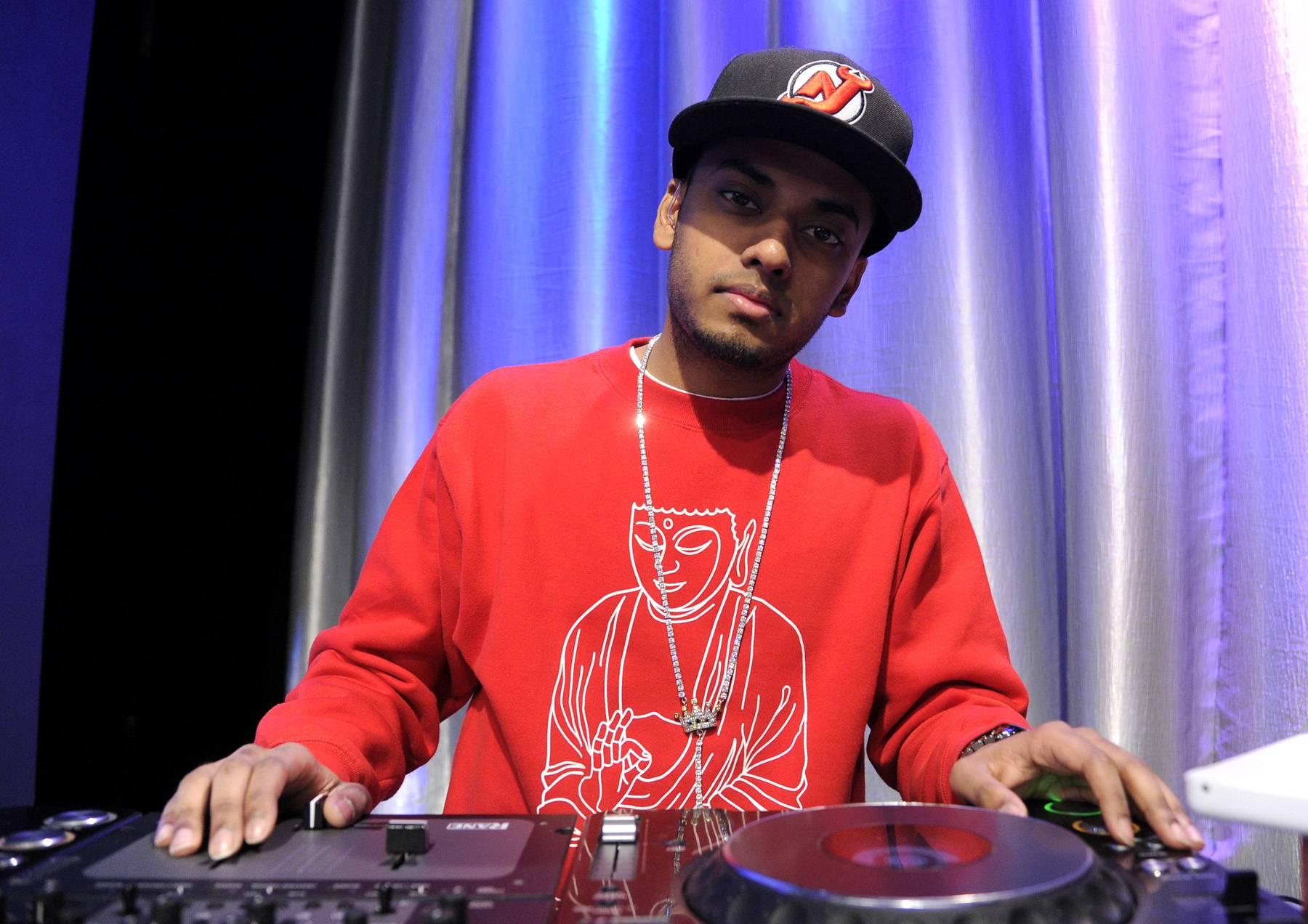 The King - DJ Spin King at 106 & Park, April 12, 2012. (Photo: John Ricard / BET)