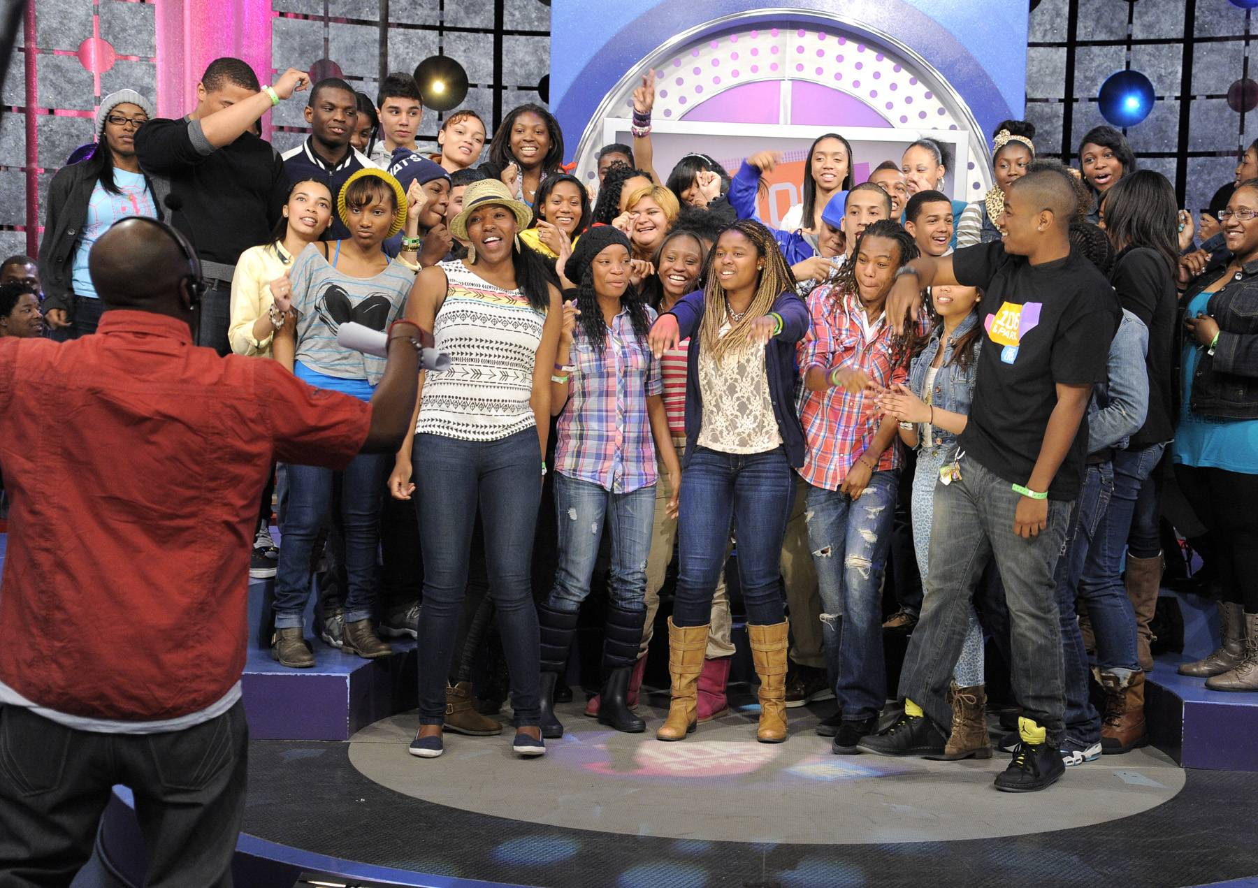 Audience Reacts - The livest audience at 106 & Park, April 12, 2012. (Photo: John Ricard / BET)
