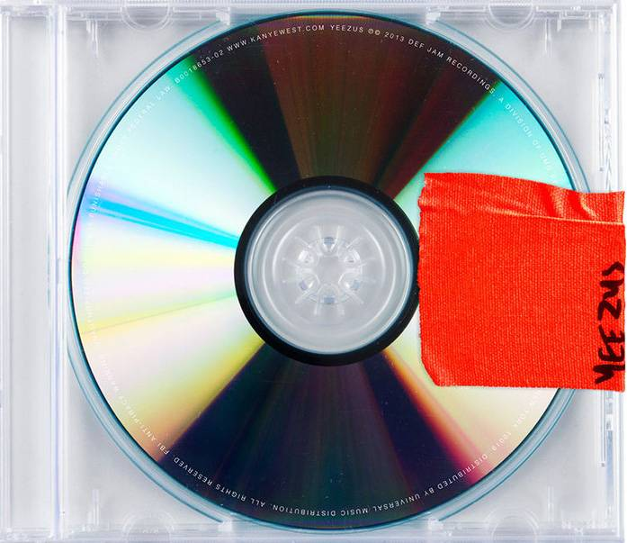 """Kanye West, Yeezus - Kanye West has been throwing a very public tantrum all year, and it's the best thing that's happened for his career. He's no longer hiding behind his master ability to create timeless hip hop tracks, instead, he went against all traditional corporate processes with Yeezus— no cover art, radio singles or polite interviews with the media — and exposed that this """"frustration"""" is something only the brave can understand ... and he did it with only 10 tracks.(Photo: Roc-a-Fella Records, GOOD Music, Def Jam, Roc Nation)"""