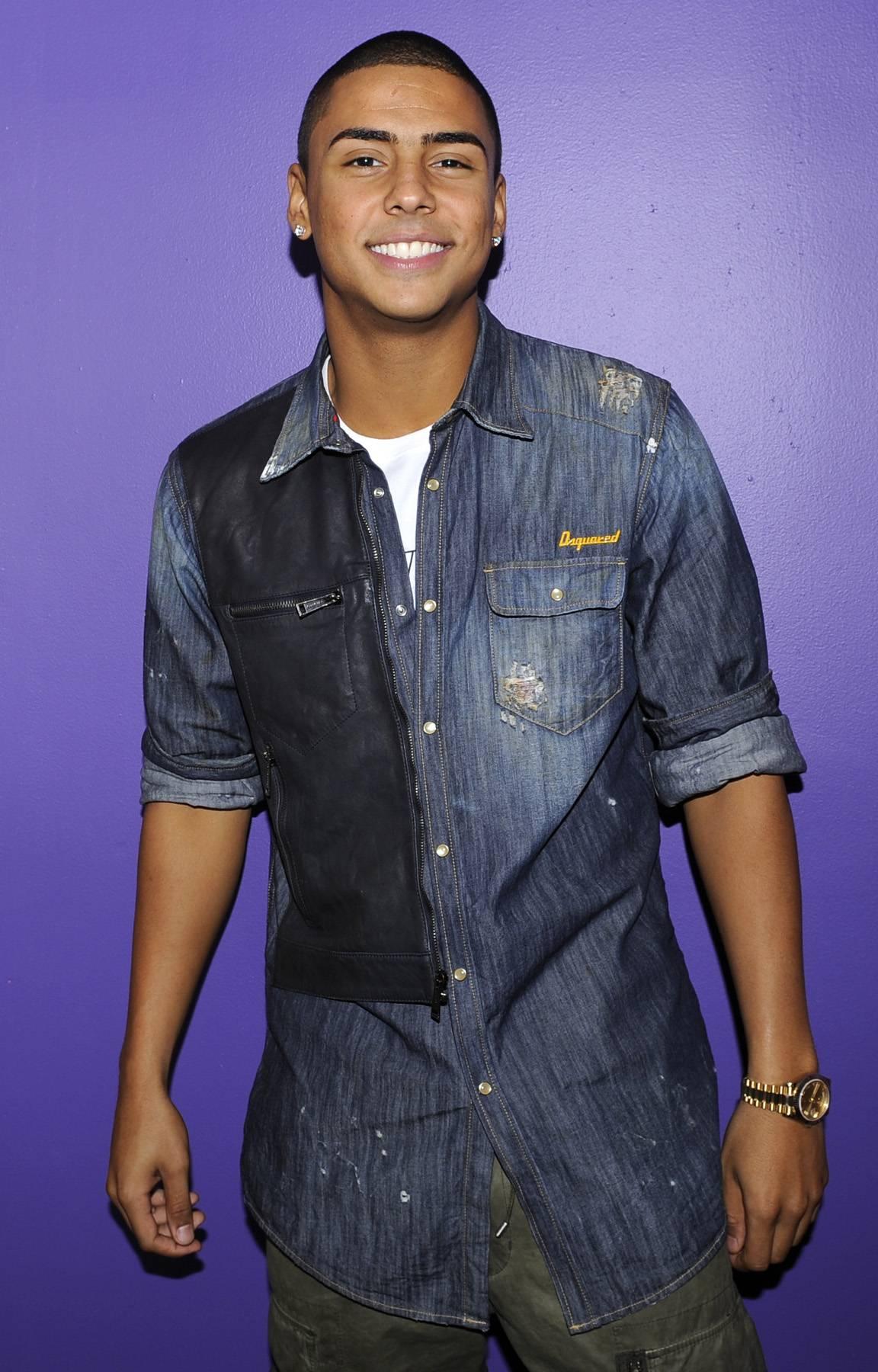 Smooth - Quincy backstage at106 & Park, May 3, 2012. (Photo: John Ricard / BET)