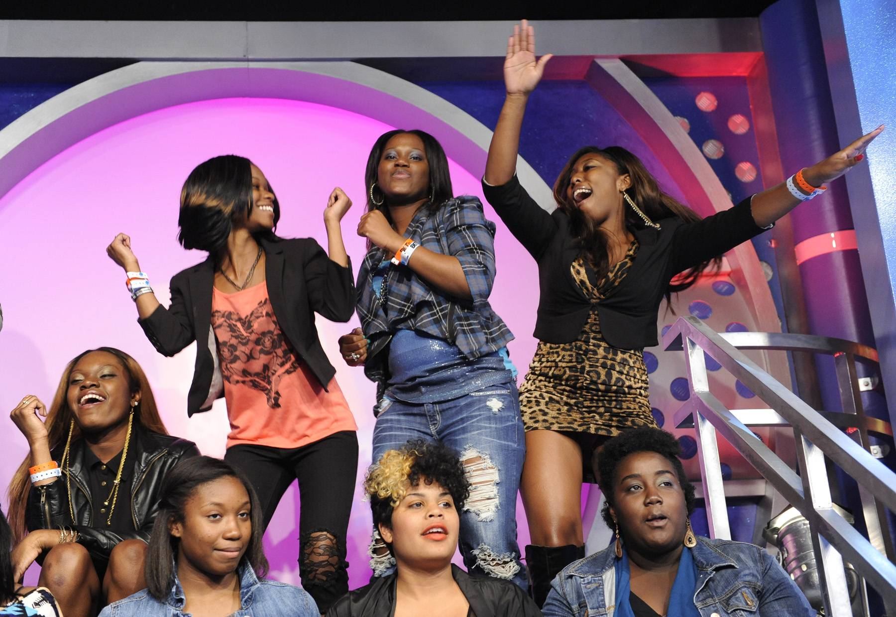 Get It Girl - The Livest Audience gets their dance on, May 3, 2012. (Photo: John Ricard / BET)