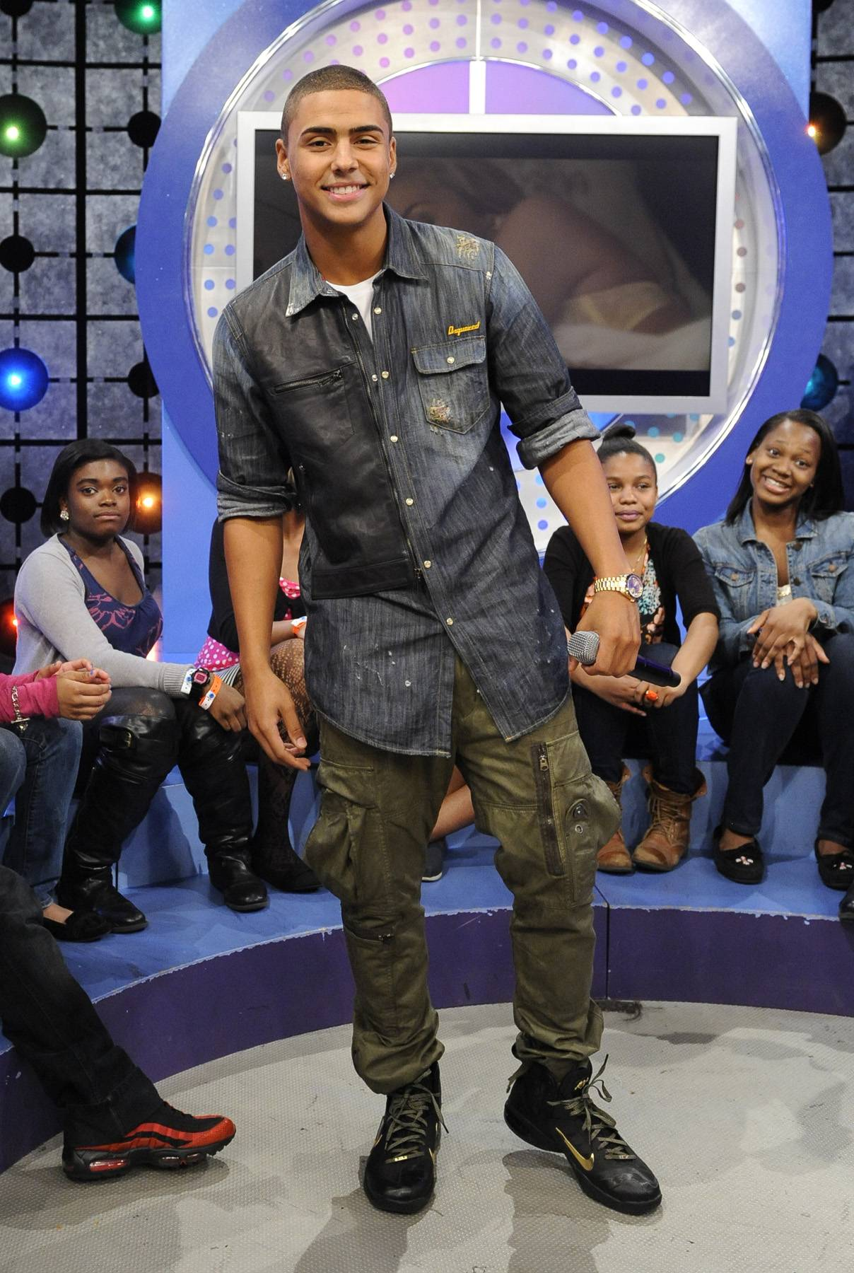 Happy to Be Here - Quincy at 106 & Park, May 3, 2012. (Photo: John Ricard / BET)