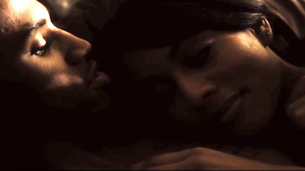 Trey Songz and Keri Hilson - In a very dramatic and touching video, Trey chose Keri to be his leading lady (wife) and the two made for a very real couple with great chemistry.(Photo: Courtesy Warner Music Group)