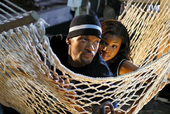 Will Smith and Gabrielle Union - Will Smith is in love with his wife, Jada, but in Bad Boys II he showed some real on-screen chemistry with Gabrielle Union.(Photo: Courtesy Columbia Pictures)