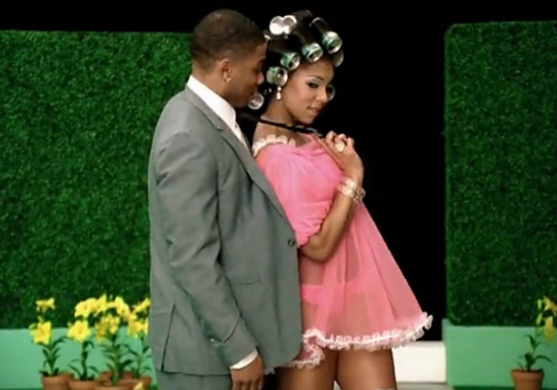 """Nelly and Ashanti - They're lovebirds, and we knew this for sure in the """"Good Good"""" video. Ashanti and Nelly for life!(Photo: Courtesy Universal Motown Records)"""