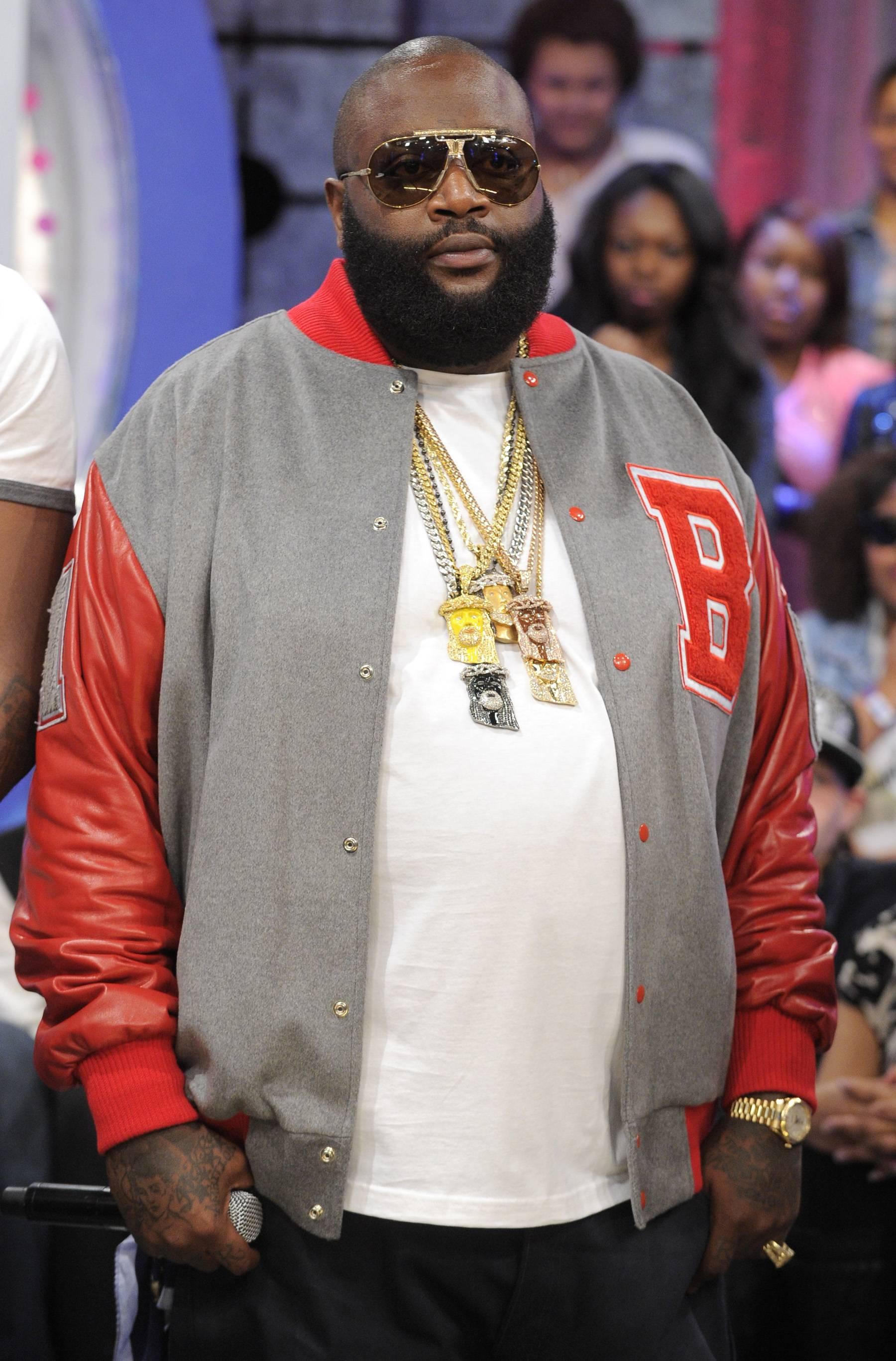 The Boss - Rick Ross at 106 & Park, May 2, 2012. (Photo: John Ricard/BET)