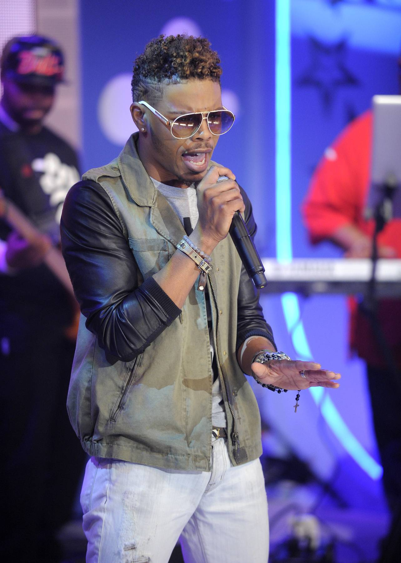 Nice Hair Eric Mayo - Wild Out Wednesday competitor Eric Mayo at 106 & Park, May 2, 2012.(Photo: John Ricard/BET)