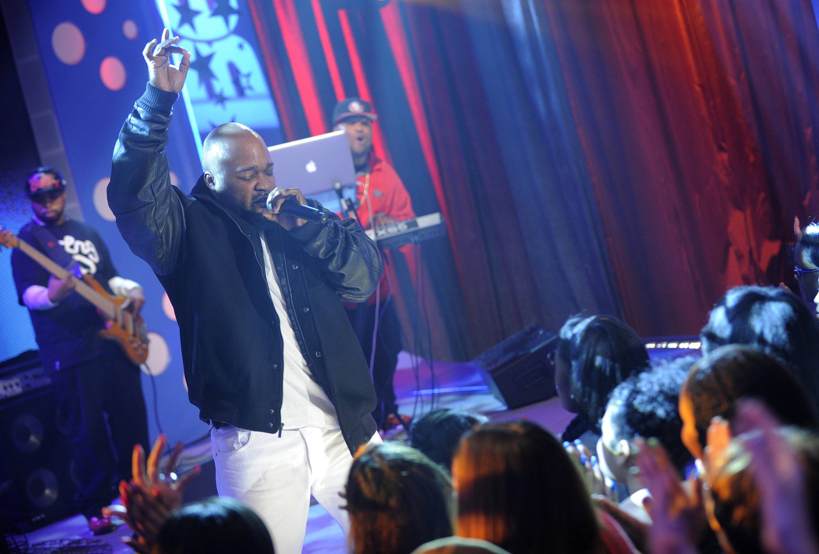 Jus K Going for the Crown - Wild Out Wednesday competitor Jus K at 106 & Park, May 2, 2012. (Photo: John Ricard/BET)
