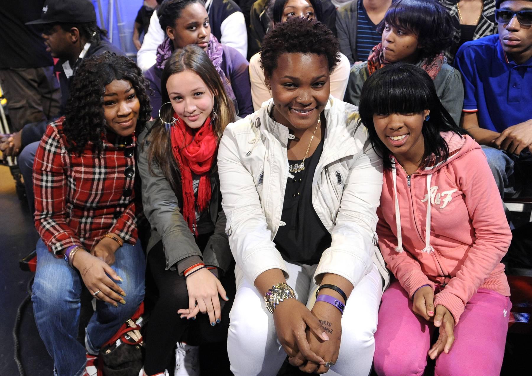 Get Live - Audience members at 106 & Park, May 2, 2012. (Photo: John Ricard/BET)