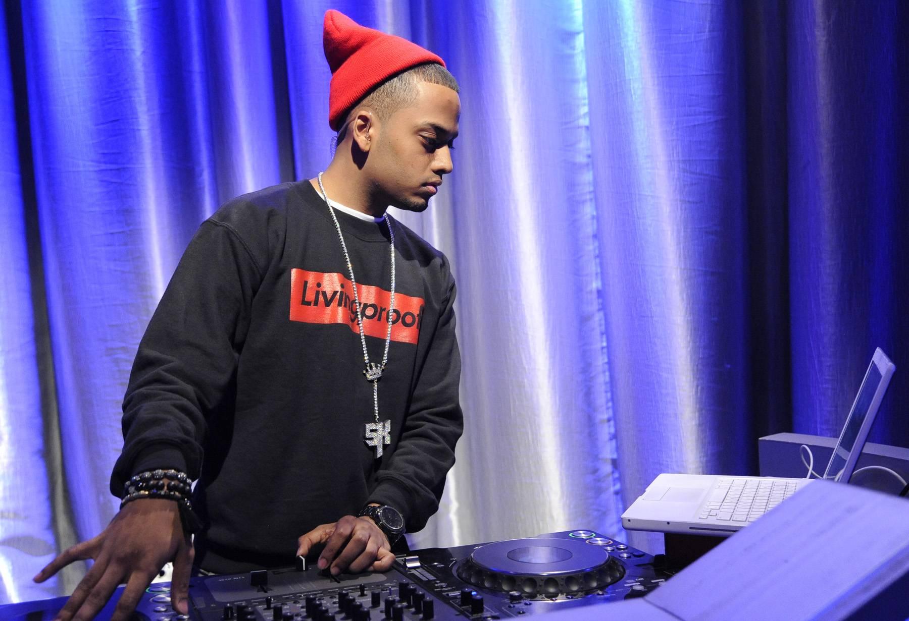 Spin That Track - DJ Spin King at 106 & Park, May 2, 2012. (Photo: John Ricard / BET)