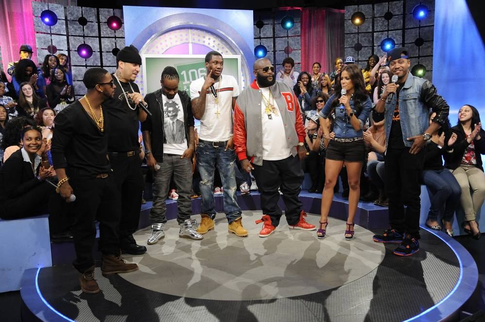 MMG Takeover - Omarion is the newest member of MMG at 106 & Park, May 2, 2012. (Photo: John Ricard/BET)