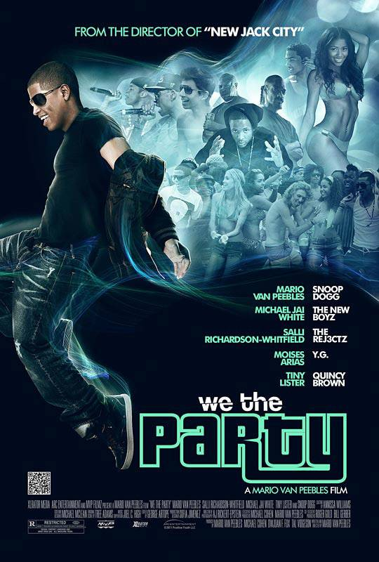 We the Party: April 6 - Mario Van Peebles directs this Breakfast Club-style drama about a group of Los Angeles multiracial teens who grapple with class, sex, bullying and finding themselves in the Obama era. Stars Mandela Van Peebles, Snoop Dogg and Salli Richardson-Whitfield.(Photo: Courtesy Movieweb)