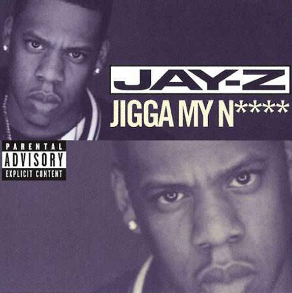 """Jay-Z ? """"Jigga My Ni**a"""" - Lyric:?The God, send you back to The Earth from which you came/ I?m baking soda, water, fire, merged with Caine?Hov is known for having double meanings in his rhyme scheme and here he references himself as God once again while sending a nemesis back to where they came from; the Earth being the dirt as well as back to your mother before you existed. He also references ?cain,? meaning cocaine but the lyrics can also be interpreted to mean Caine who killed his brother, Abel, and sent him back to the earth.(Photo: Roc-A-Fella Records)"""