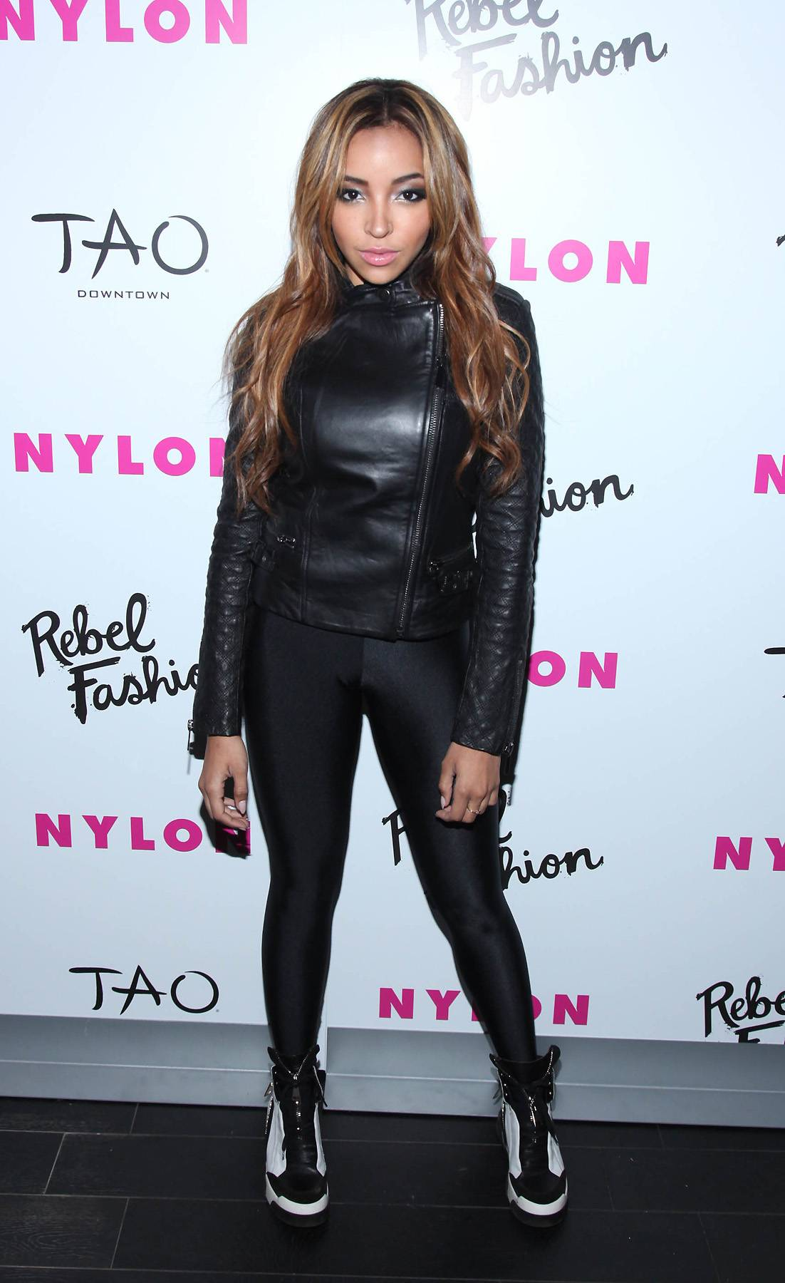 Tinashe Visits 106 & Park - Tinashe stops by 106 & Park tonight to give up the deets on her new album, Aquarius. Tune in at 5P/4C.  (Photo: Rob Kim/Getty Images for NYLON)
