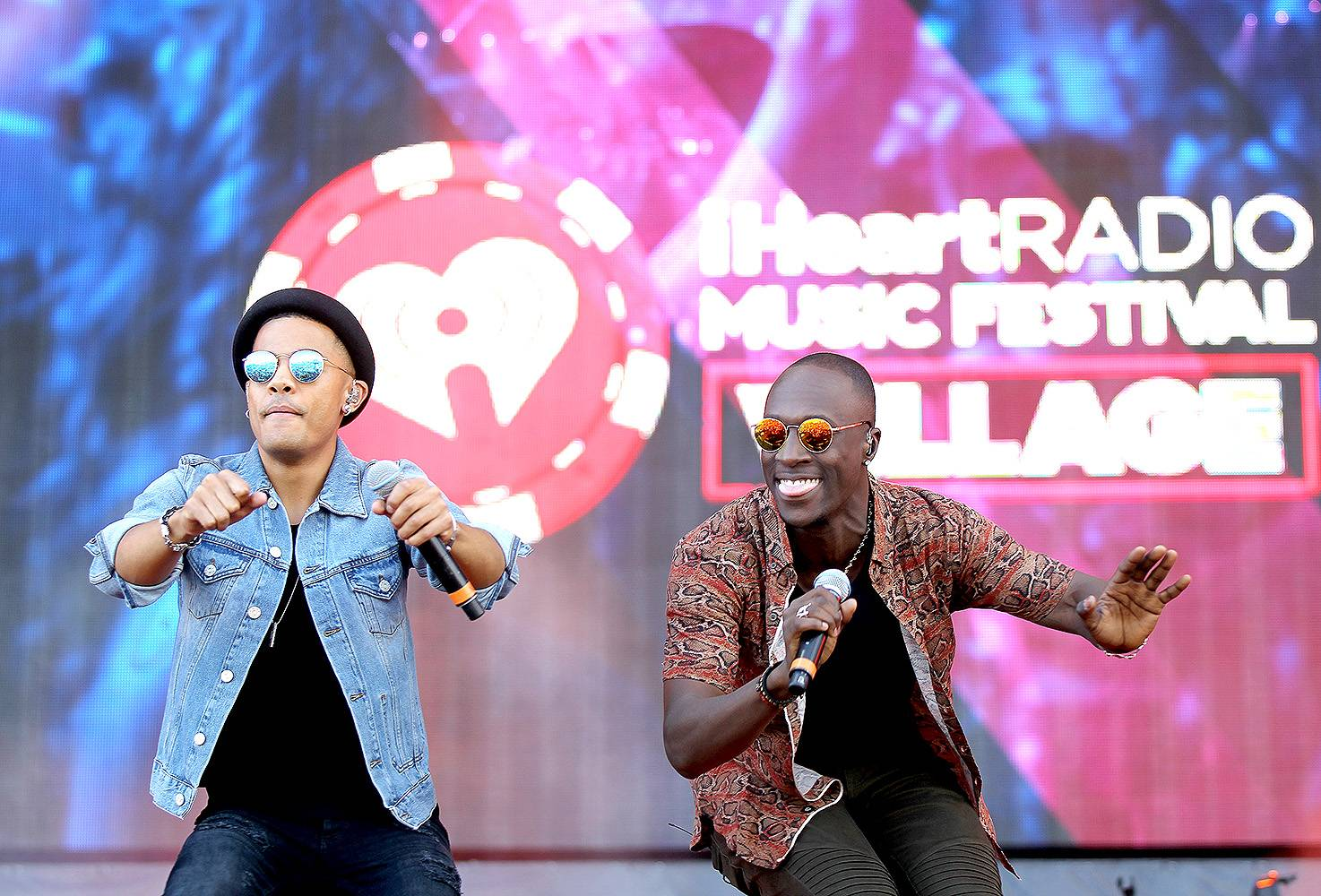 """Nico & Vinz - ?Am I Wrong? - NorweigansVincent Dery (L) and Nicolas Sereba of Nico & Vinz seemingly took over the music world with their crossover smash single """"Am I Wrong."""" Nothing wrong about the impact of this song.(Photo: Isaac Brekken/Getty Images for iHeartMedia)"""