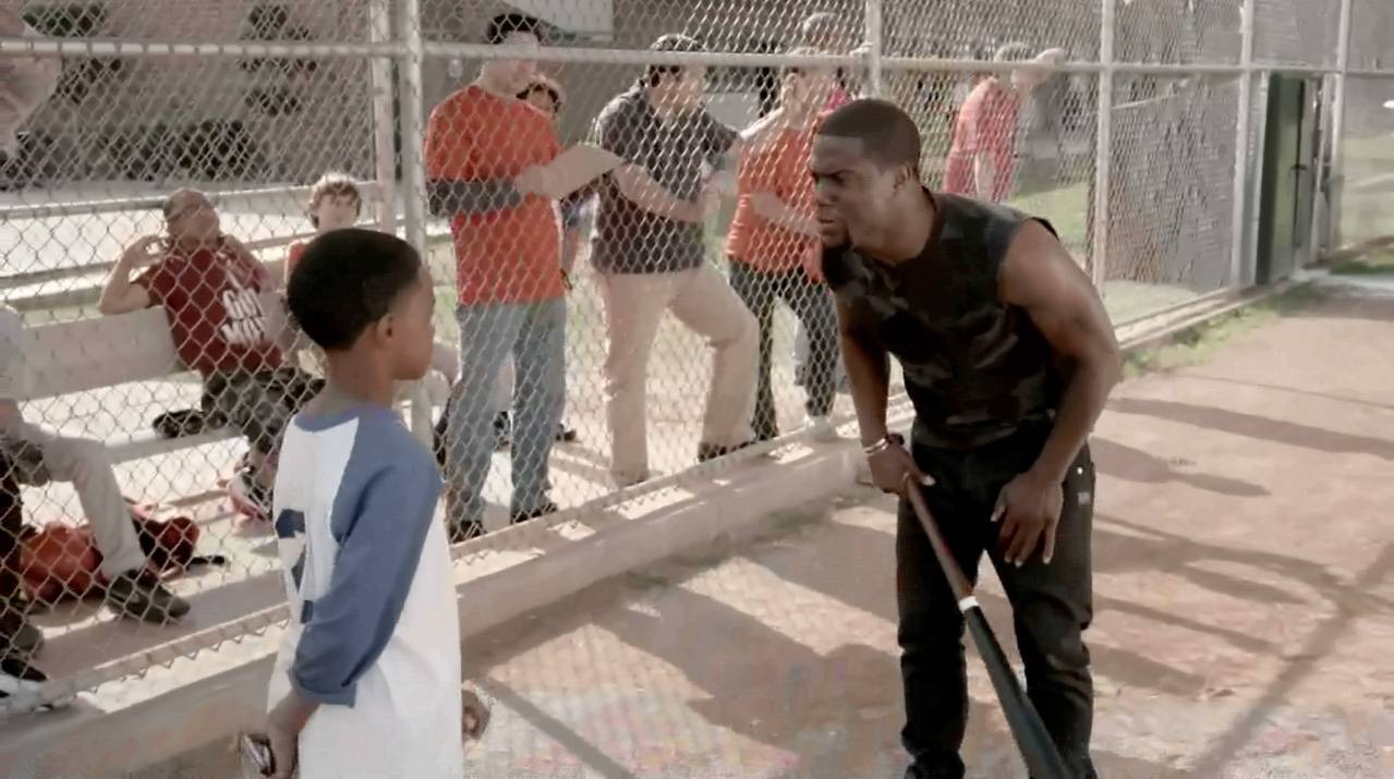 Kevin Shows Up - But is his son impressed?(Photo: BET)