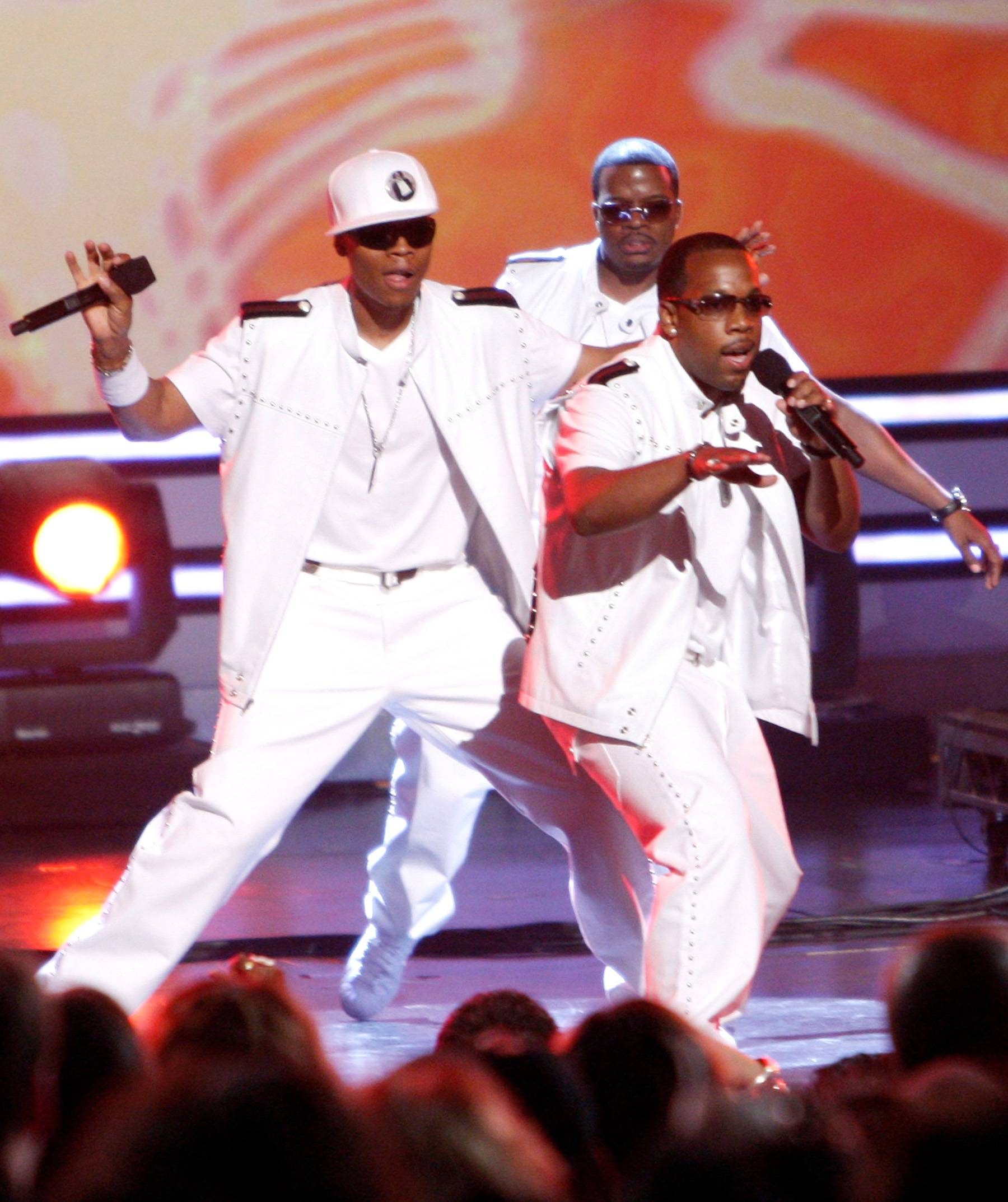 """Bell Biv Devoe - Bell Biv Devoe's 1990 classic """"Poison"""" was one of the first examples of R&B singers crossing over to the rap world?and two decades later, it's still one of the best. (Photo: Kevin Winter/Getty Images)"""