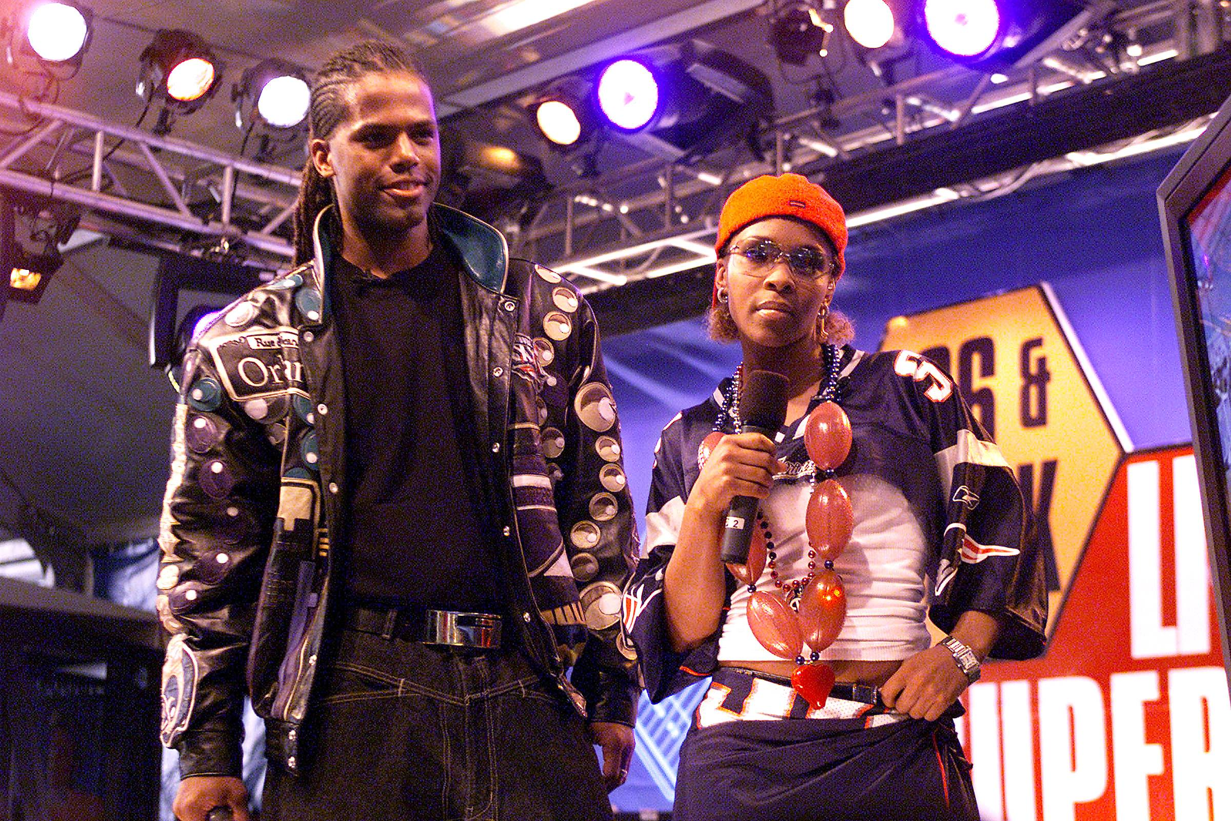 In the Beginning  - A.J. Calloway and Free were the original hosts of BET's 106 & Park when the show launched on Sept. 11, 2000. Back in the day, the show was actually shot at a studio on 106th Street and Park Avenue in East Harlem. (Photo by Frank Micelotta/ImageDirect)