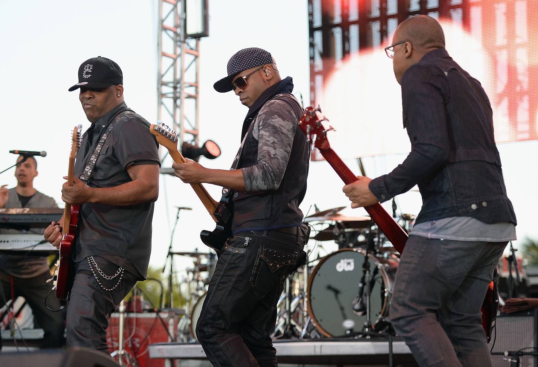 Hit It! - Following in the footsteps of great bands like Earth Wind & Fire and Kool and the Gang, Mint Condition took the iconic funk sound, mixed it with R&B an delivered hit after hit in the '90s. Think you've got what it takes to blend genres and make a name for yourself? Here are tips that may help! (Photo: Larry Marano/Getty Images for Jazz In The Gardens)