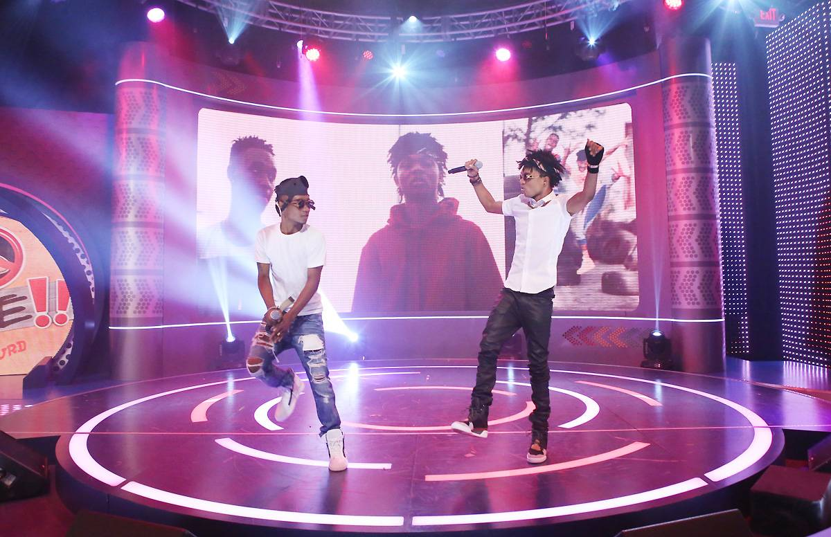 """'No Type'  - Rae Sremmurd lets the ladies know that they are open to all comers when it comes to choosing. Mike WilLL Made It slowed it down for this one as Rae Sremmurd confesses, """"I don't got no type/ Bad b**s is the only thing that I like.""""(Photo: Bennett Raglin/BET/Getty Images for BET)"""