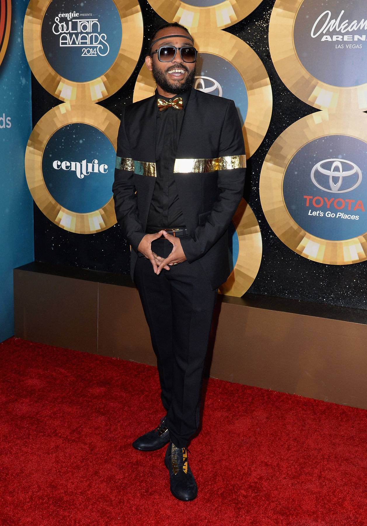 Machel Montano  - Machel Montano ready fi mash up di place. (Photo: Earl Gibson/BET/Getty Images for BET)