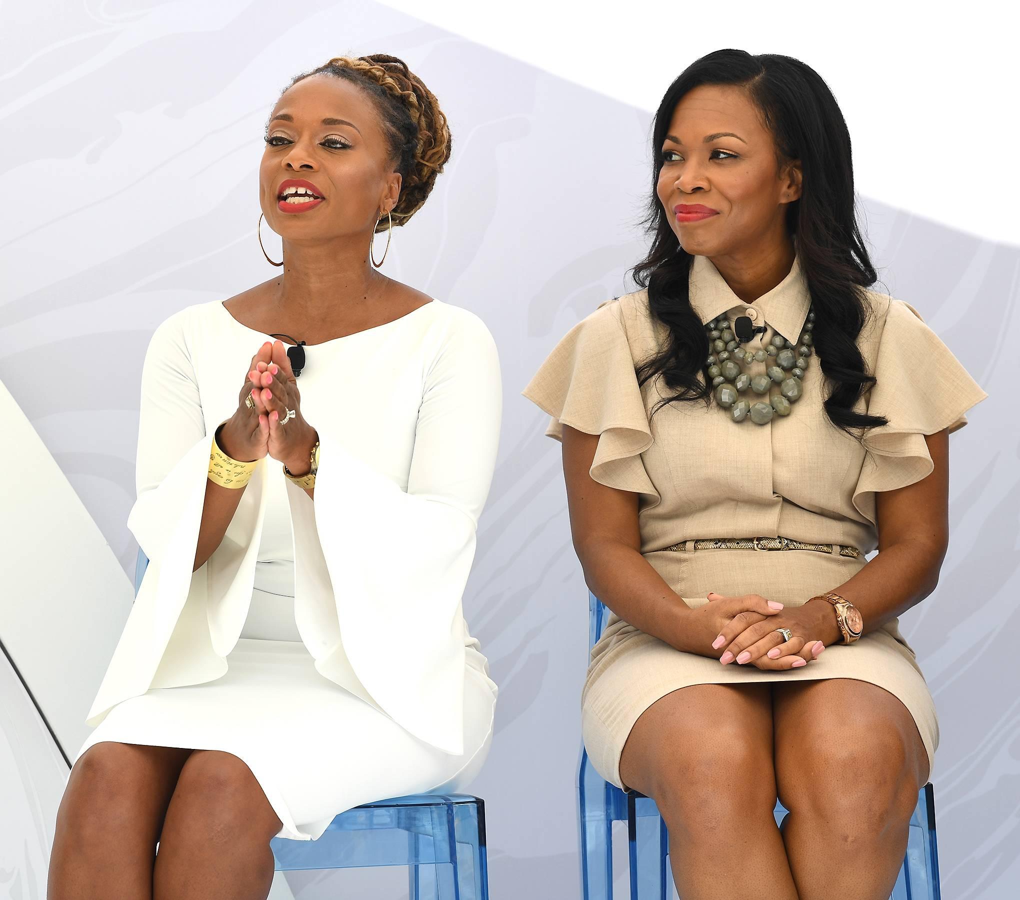 Teneshia Jackson Warner,Felicia Phillips - Teneshia Jackson Warner,Felicia Phillips (Photo: Phelan Marc/BET)