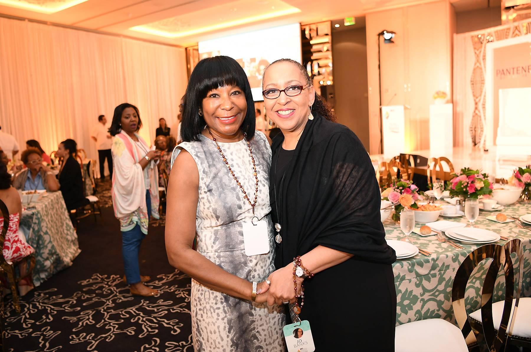 Ladies Link Up - Vivian Pickard (left) (Photo: Phelan Marc/BET)
