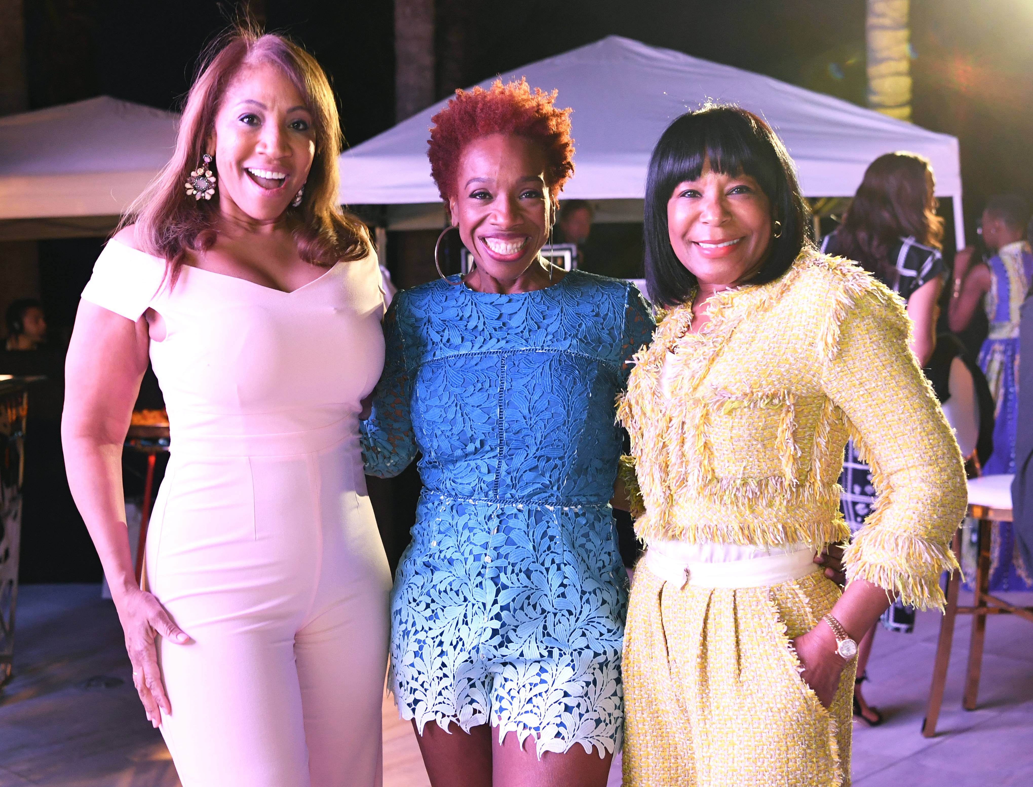 Lovely Ladies - These inspirational women were all smiles.(Photo: Phelan Marc/BET)