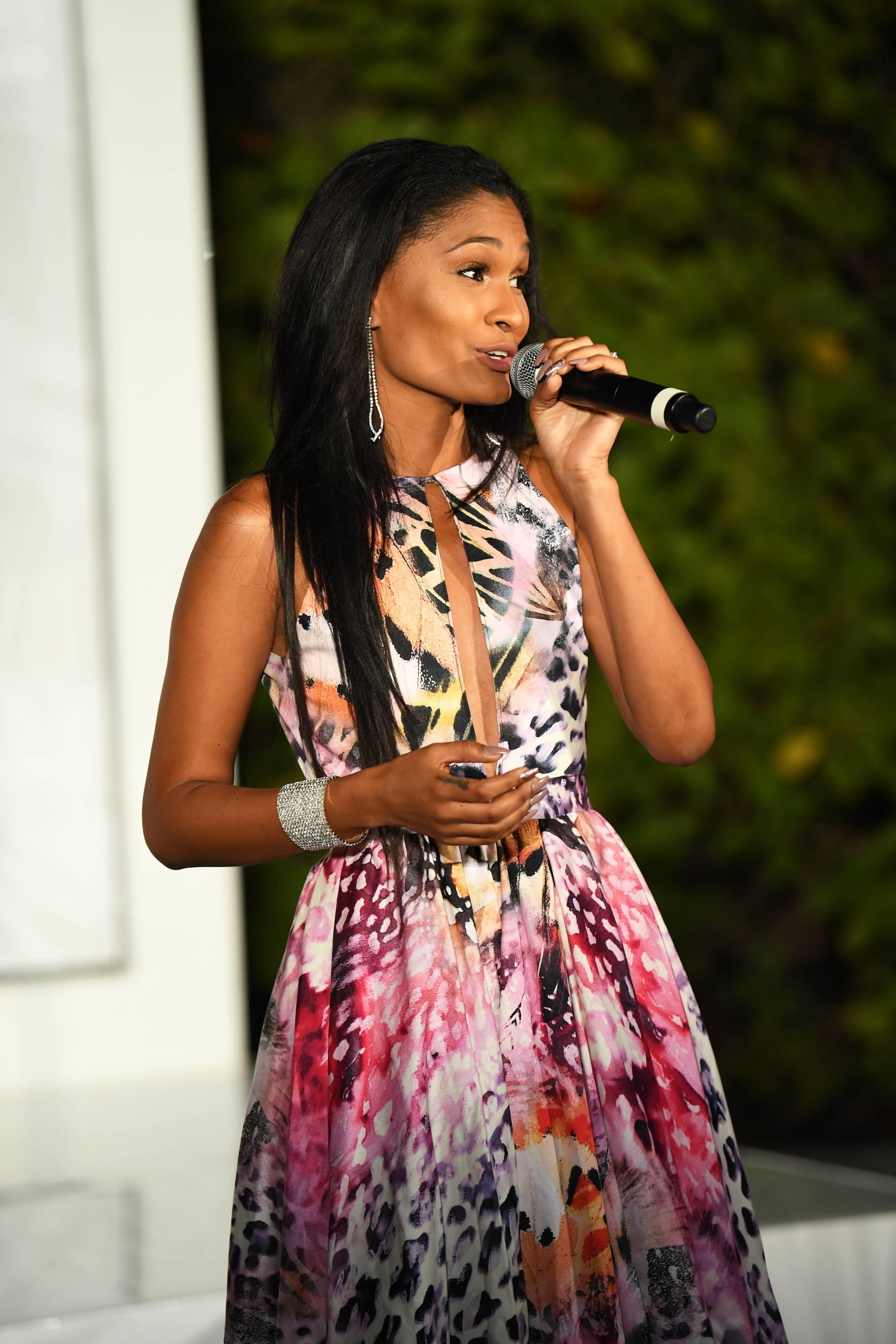 Arita Edmund - Wise words were spoken by Trinidad and Tobago's most promising singing sensation.(Photo: Phelan Marc/BET)