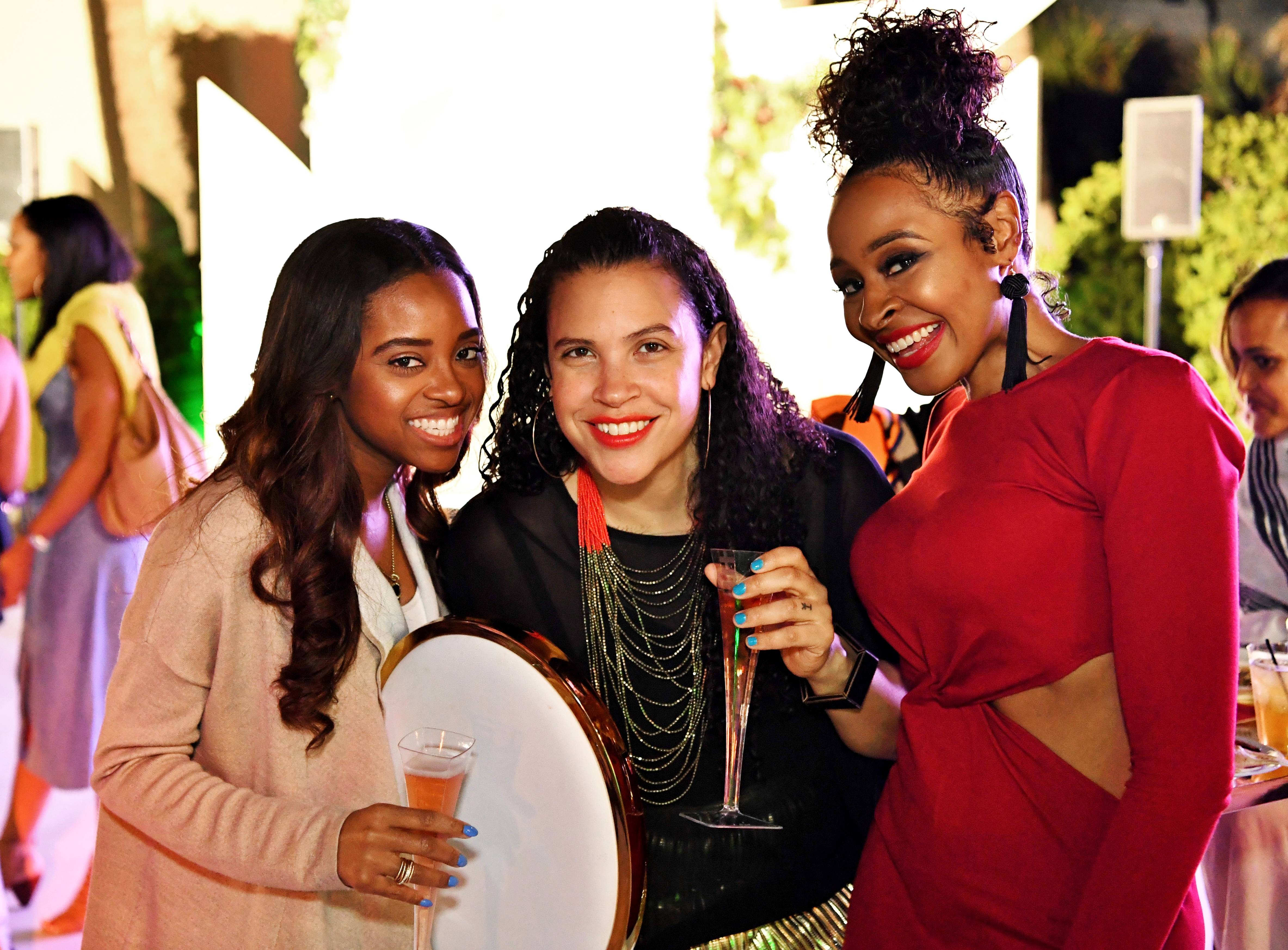 Girls Just Want to Have Fun - The ladies indulged in libations while they networked.(Photo: Phelan Marc/BET)