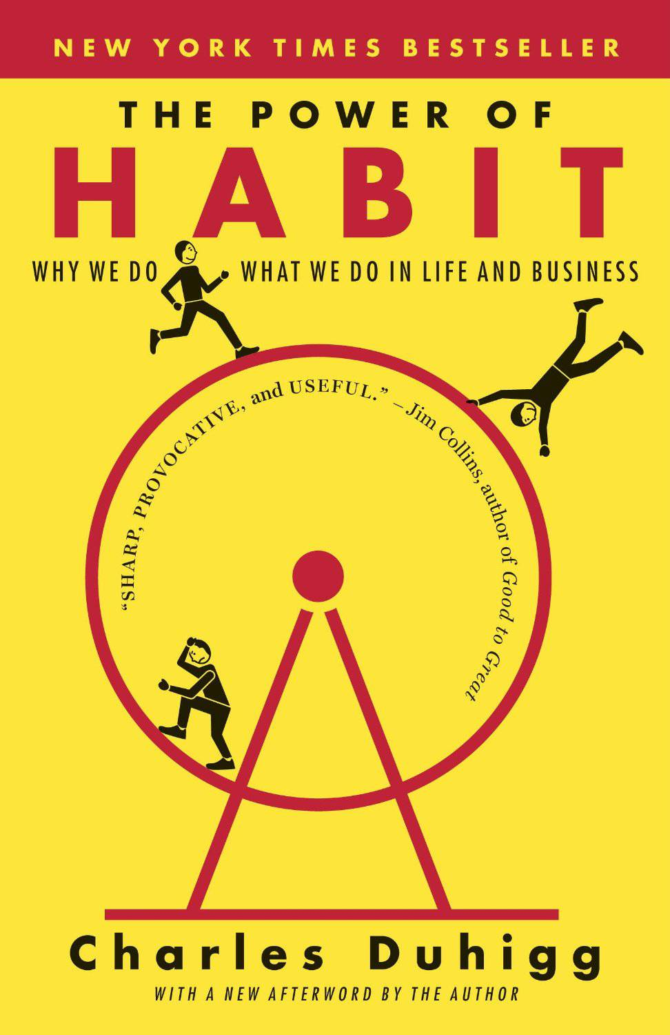 HABITS - The Power of Habit: Why We Do What We Do in Life and Business by Charles DuhiggGet a better understanding of how habits work and why we do things with this self-help habit book. Charles Duhigg covers topics like working out, losing weights and key concepts of productivity. In order to succeed we must train our minds to improve at increased levels everyday.(Photo: Random House Trade Paperbacks)
