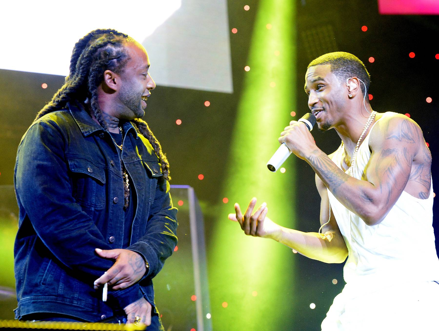 Guest Spots - Ty Dolla $ign was the first surprise guestsTrey Songz lined up for the night. (Photo: Earl Gibson/BET/Getty Images for BET)