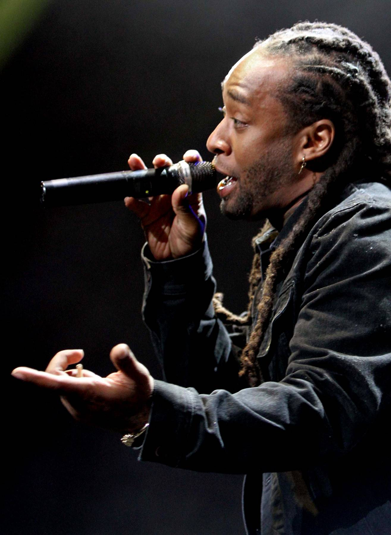 """No Paranoia - Ty Dolla $ign dropped by to perform his remix to """"Paranoid."""" They performed the hit single, sans French Montana. (Photo: Maury Phillips/BET/Getty Images for BET)"""