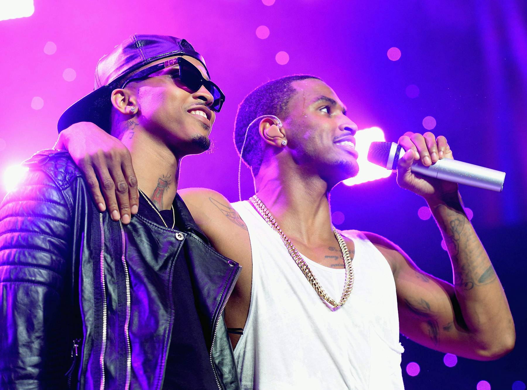 Brotherly Love - Trey Songz and August Alsina have had their differences in the past, but their brotherly bond is unbreakable.(Photo: Earl Gibson/BET/Getty Images for BET)