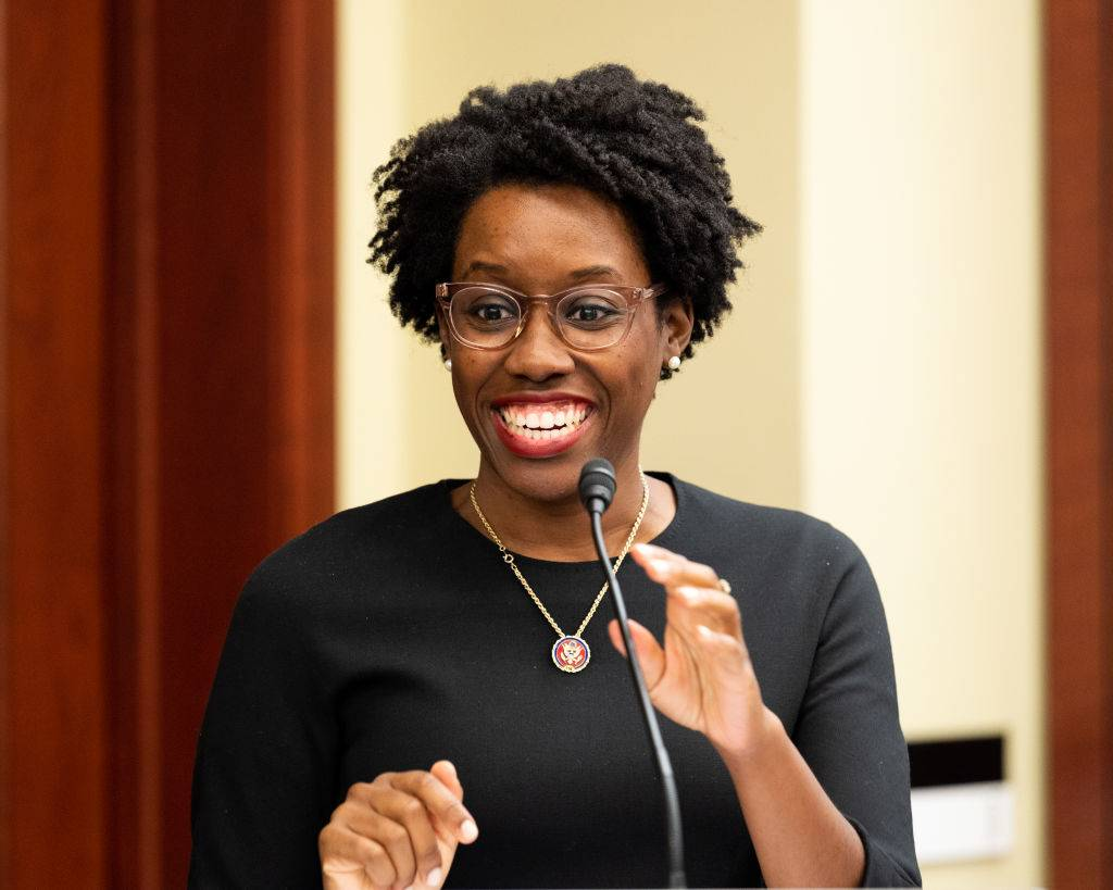 Rep. Lauren Underwood - In 2019, at age 32, Lauren Underwood became the youngest Black woman elected to Congress, representing Illinois' 14th congressional district in the House of Representatives. On Nov. 18 of this year, she won her bid for a second term when she defeated Jim Oberweis. (At press time, the Associated Press declared Underwood the winner, although Oberweis promised to explore all legal options to dispute the win.) Underwood has co-sponsored 324 pieces of legislation, three of which have been signed into law. She is a tireless fighter against family separation and should be offered up as an example by her fellow Millennials every time a Boomer challenges their work ethic. (Photo by Michael Brochstein/SOPA Images/LightRocket via Getty Images)