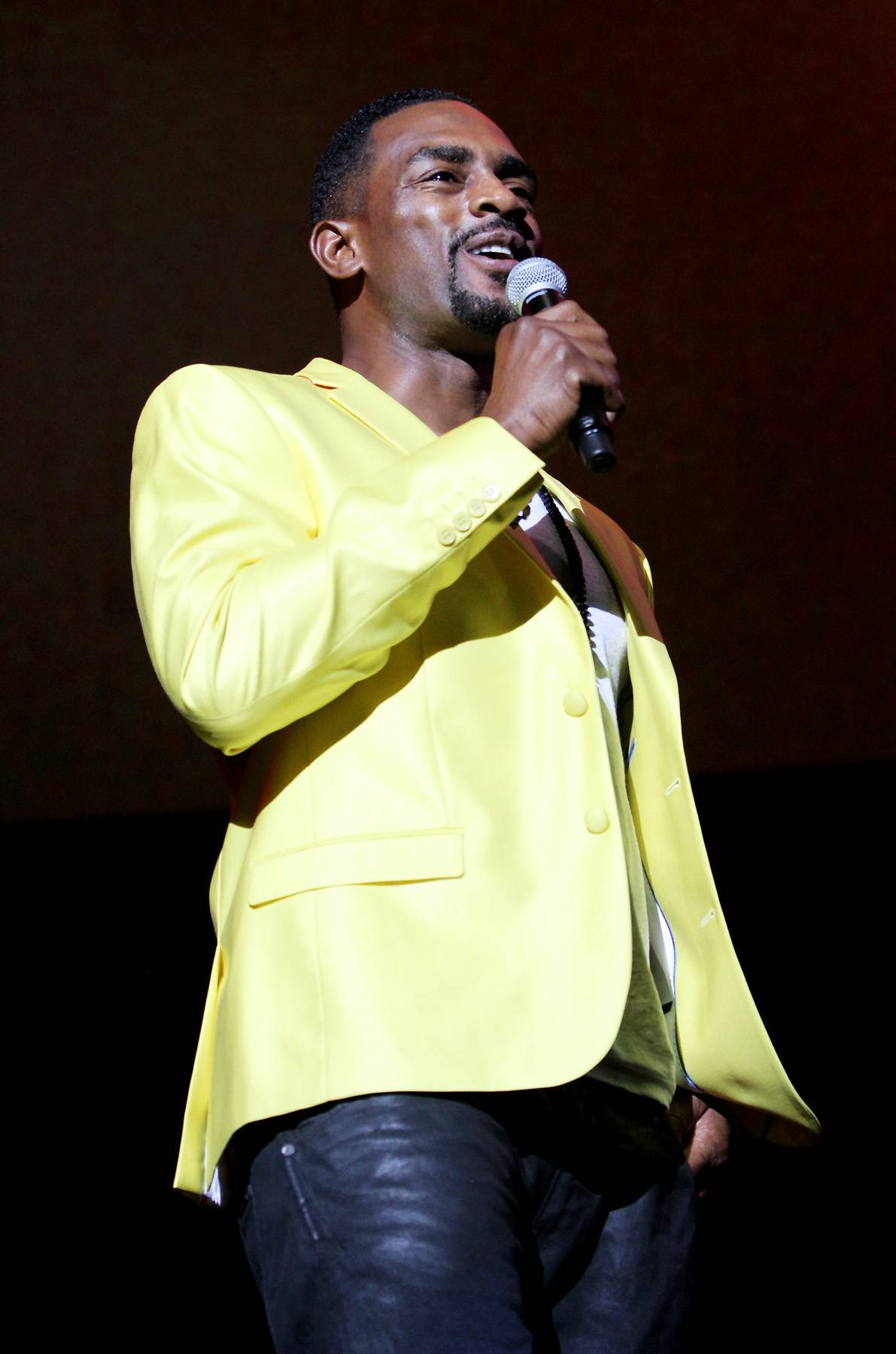 Bring in the Funny - Bill Bellamy served up some laughs in between performances.(Photo : Maury Phillips/BET/Getty Images for BET)