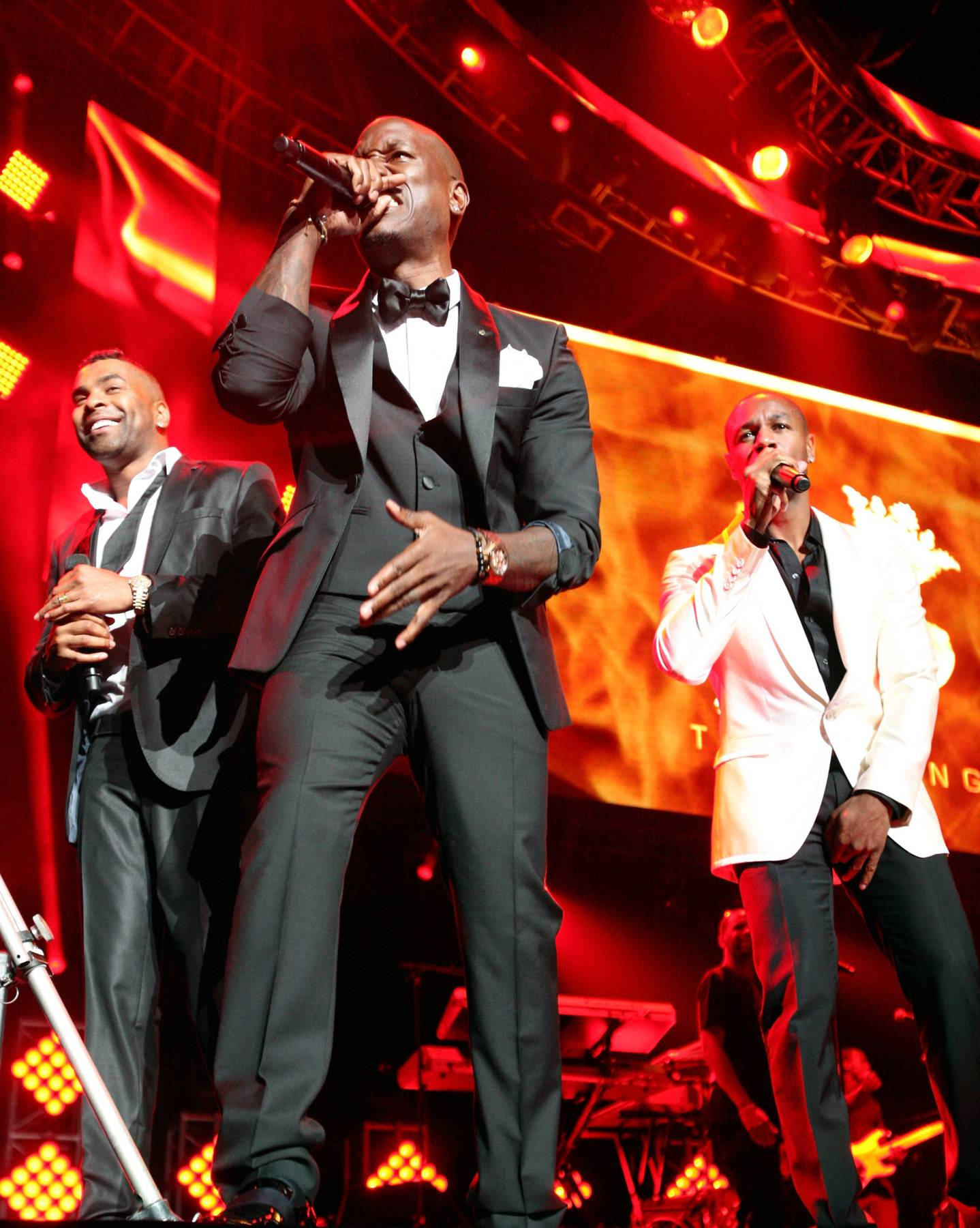 Grown and Sexy - These guys have really hit on a special music chemistry, it's no wonder their Three Kings debut was so well received.(Photo: Maury Phillips/BET/Getty Images for BET)