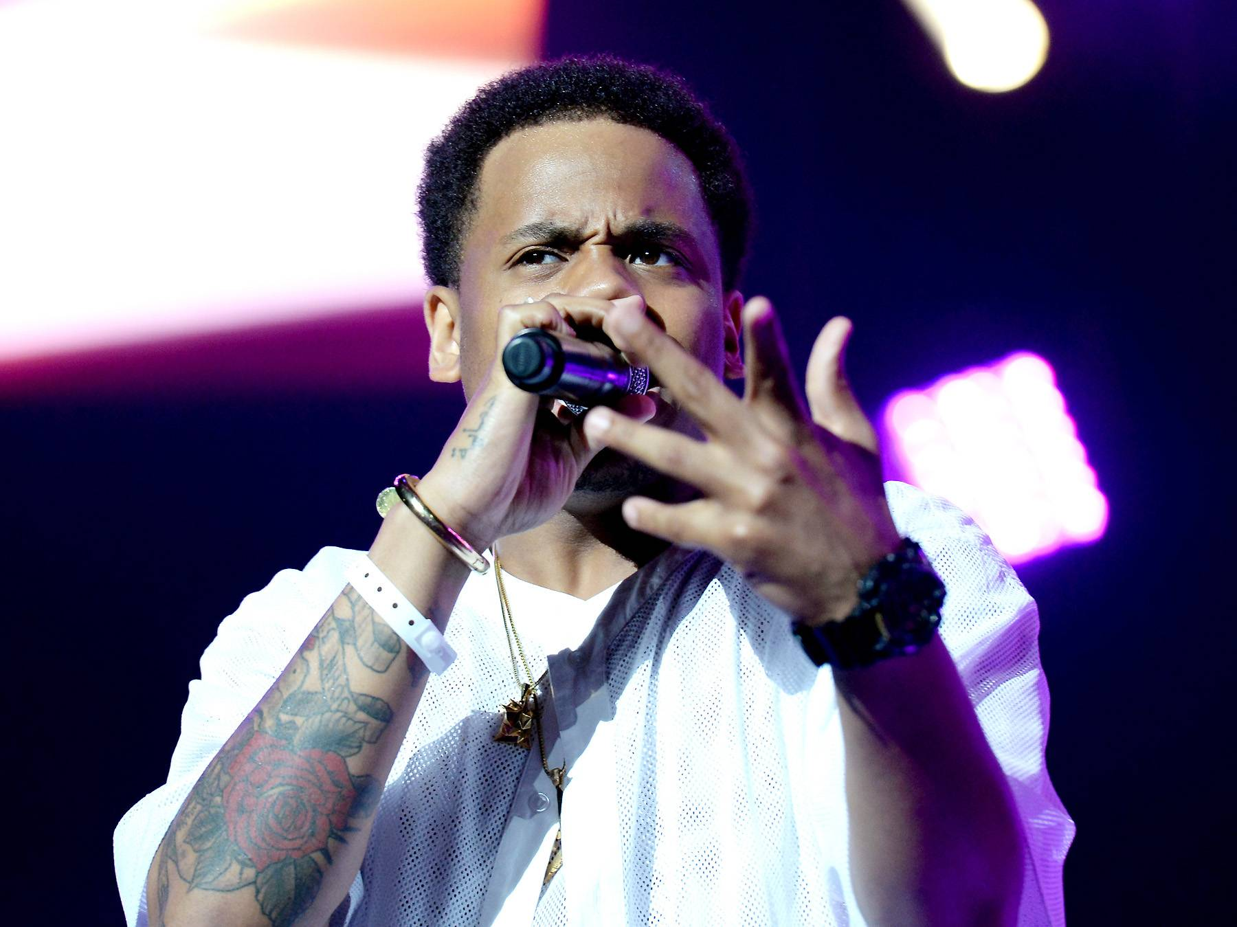 The Art of Storytelling - Mack Wilds took the West Coast on a trek through New York: A Love Story.(Photo: Earl Gibson/BET/Getty Images for BET)
