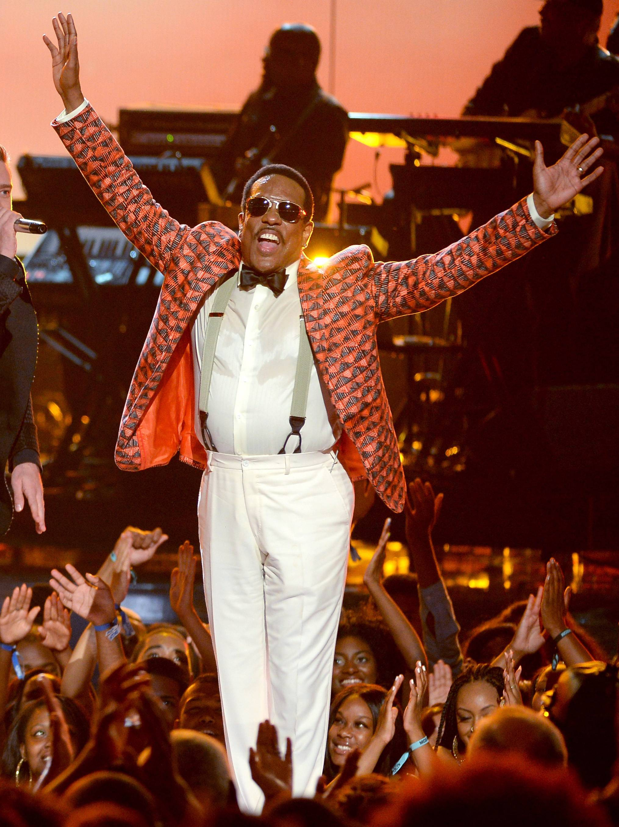 Best R&B/Soul Male Artist: Charlie Wilson - Music's favorite Uncle Charlie still has it! After three decades of hit-making, the Soul Train Legend made it clear he's still outstanding.(Photo: Mark Davis/Getty Images for BET)
