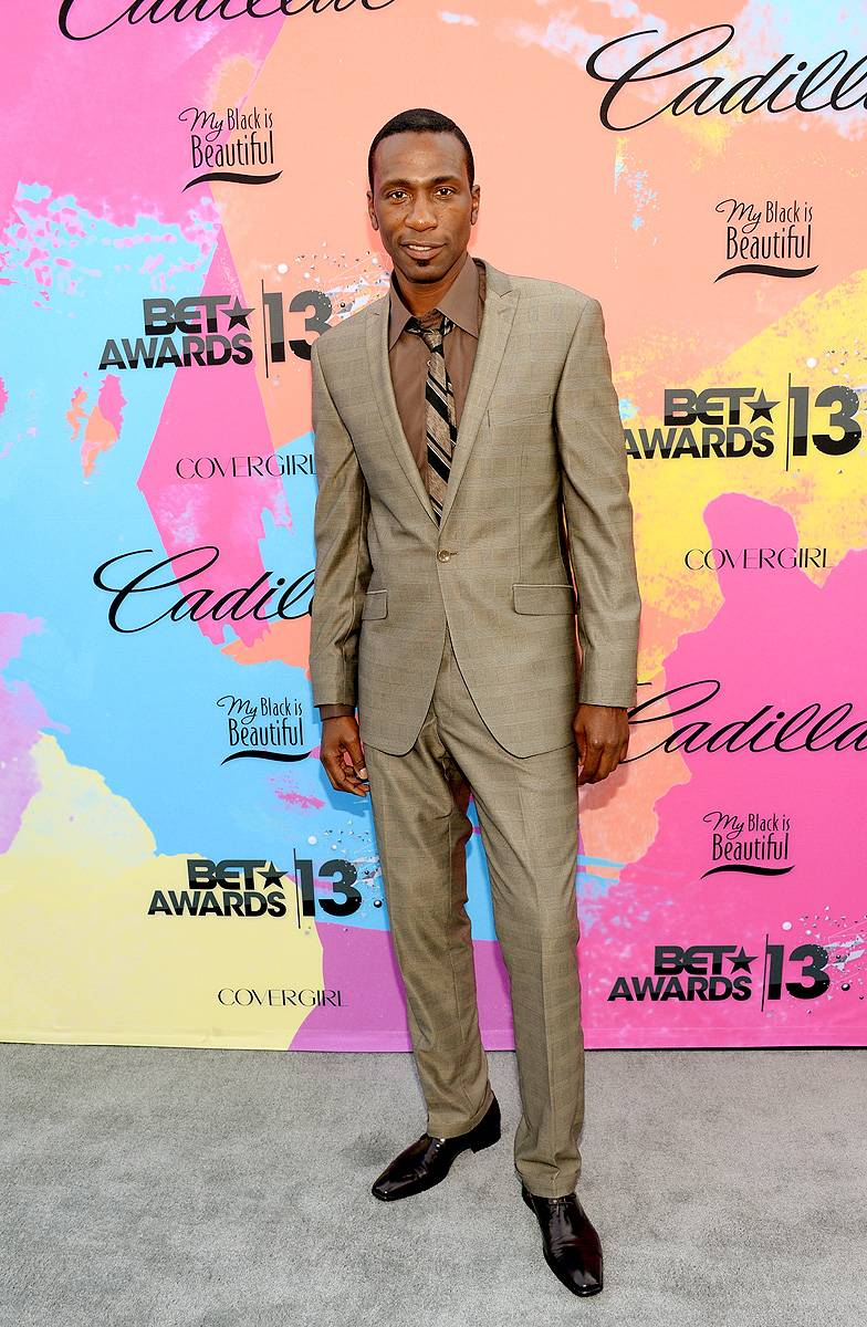 Presenter: Leon Robinson - (Photo: Jason Kempin/BET/Getty Images for BET)