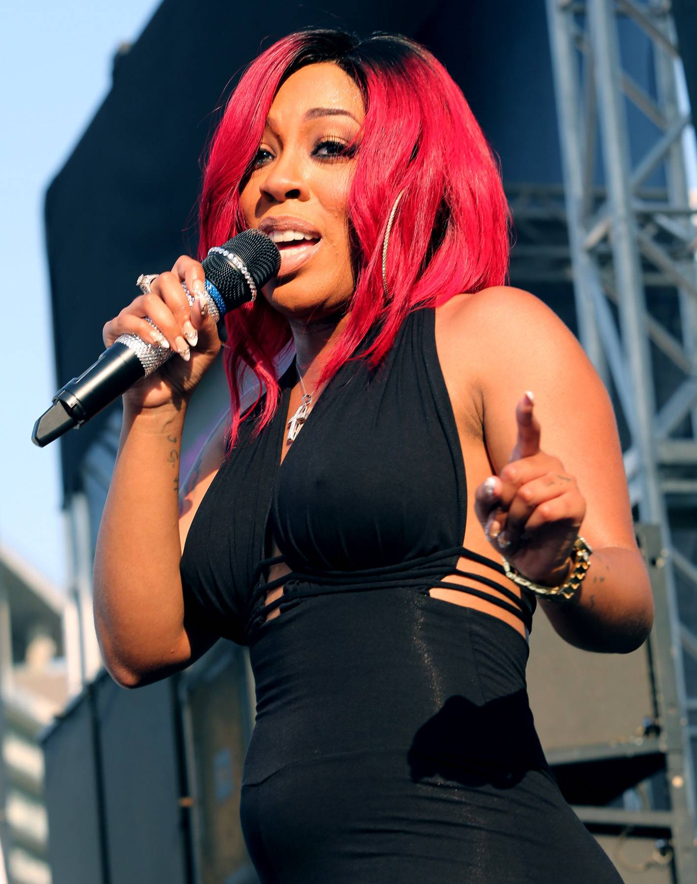 24. K. Michelle - Imagine if she brought her talents to the Real Wives? It would be a wrap.(Photo: James W. Lemke/Getty Images for BET)