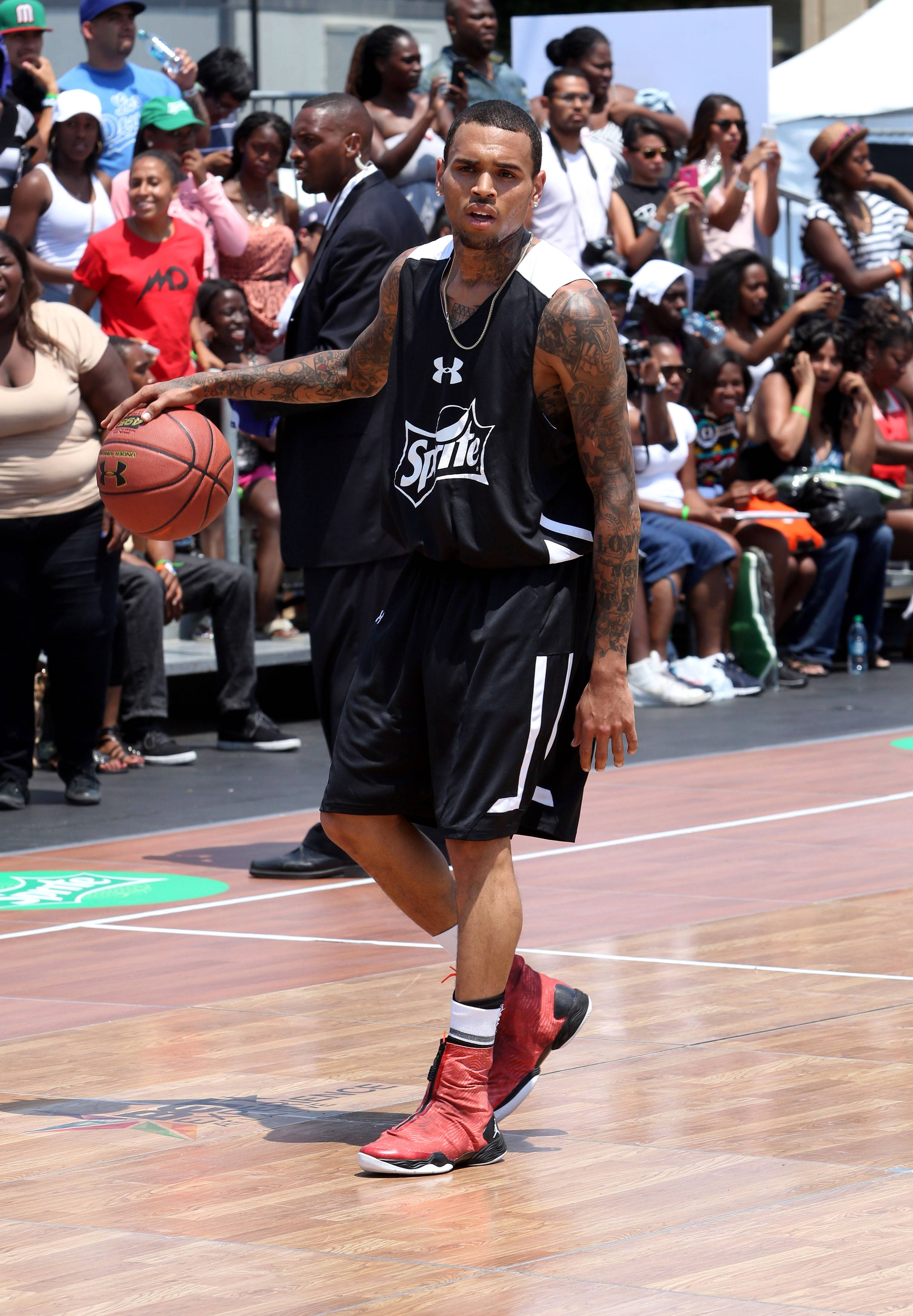 9. Dude Knows How to Ball - He's been to the Sprite Celeb Basketball Game every year now.  (Photo: Jesse Grant/Getty Images for BET)
