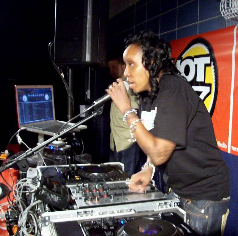 DJ Jazzy Joyce - Female DJ recognition. In 2005, Jazzy Joyce becomes the first female to join Funkmaster Flex's Big Dawg Pitbulls DJ crew. (Photo: Courtesy Profile Records)
