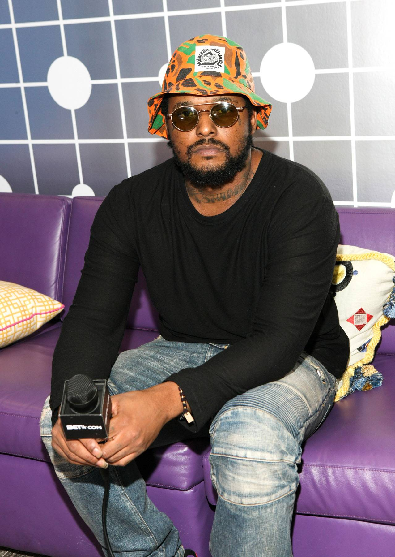ScHoolboy Q - February 27, 2014 -ScHoolboy Qtalked to us about his new,Oxymoron.Watch a clip now!(Photo: Bennett Raglin/BET/Getty Images for BET)