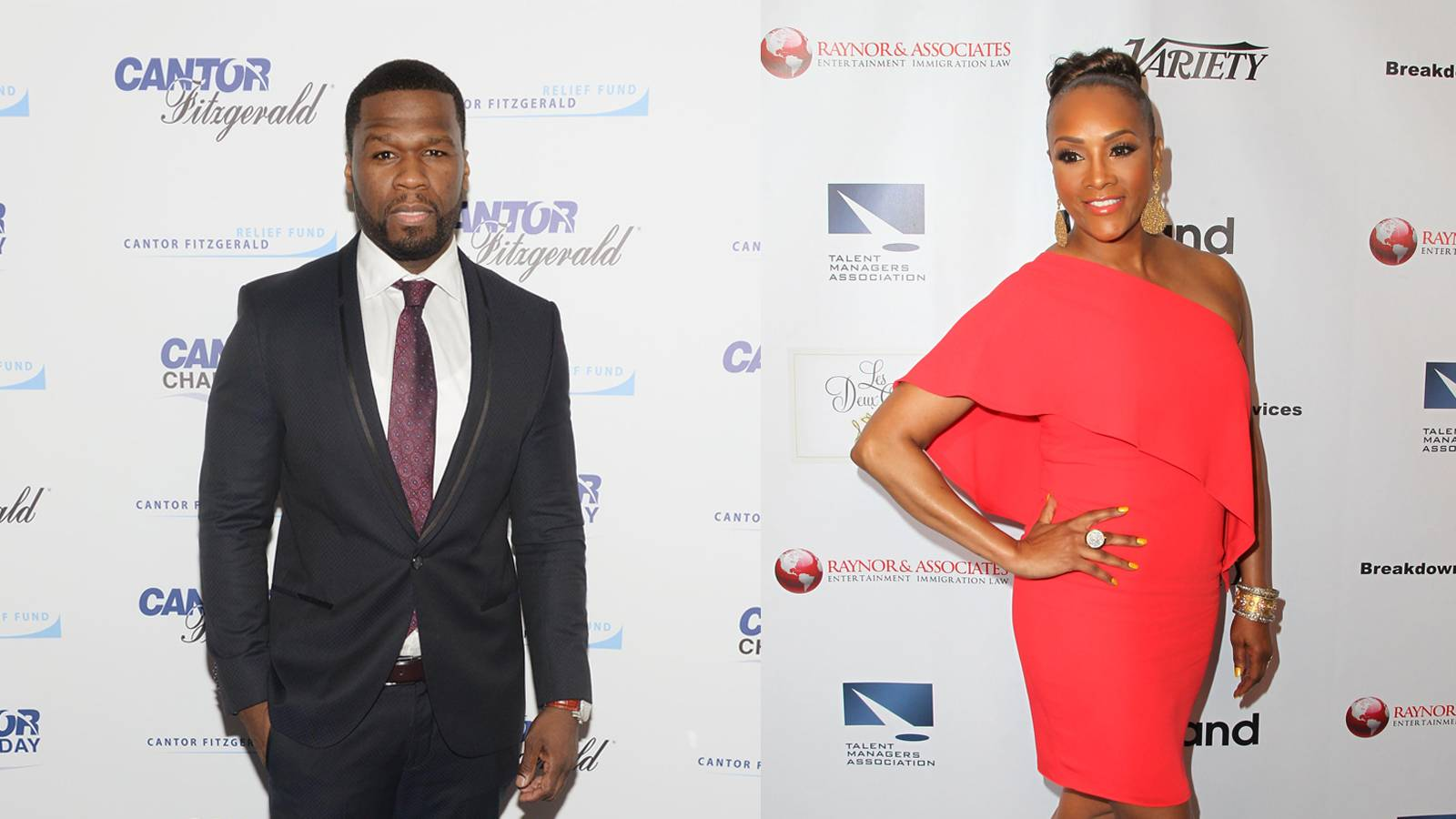 Bad Blood - When he's not ranting on Twitter about all the reasons Power is better than Empire, 50 Cent is trolling like nobody's business. King Petty Wap himself has no problem clapping back, and last night's attack on Vivica A. Fox proved his chill is non-existent. In honor of 50's very shady ways, lets revisit his best beefs with his high profile exes. —George Chapman Jr.(Photos from left: Noam Galai/Getty Images for Cantor Fitzgerald, David Buchan/Getty Images)